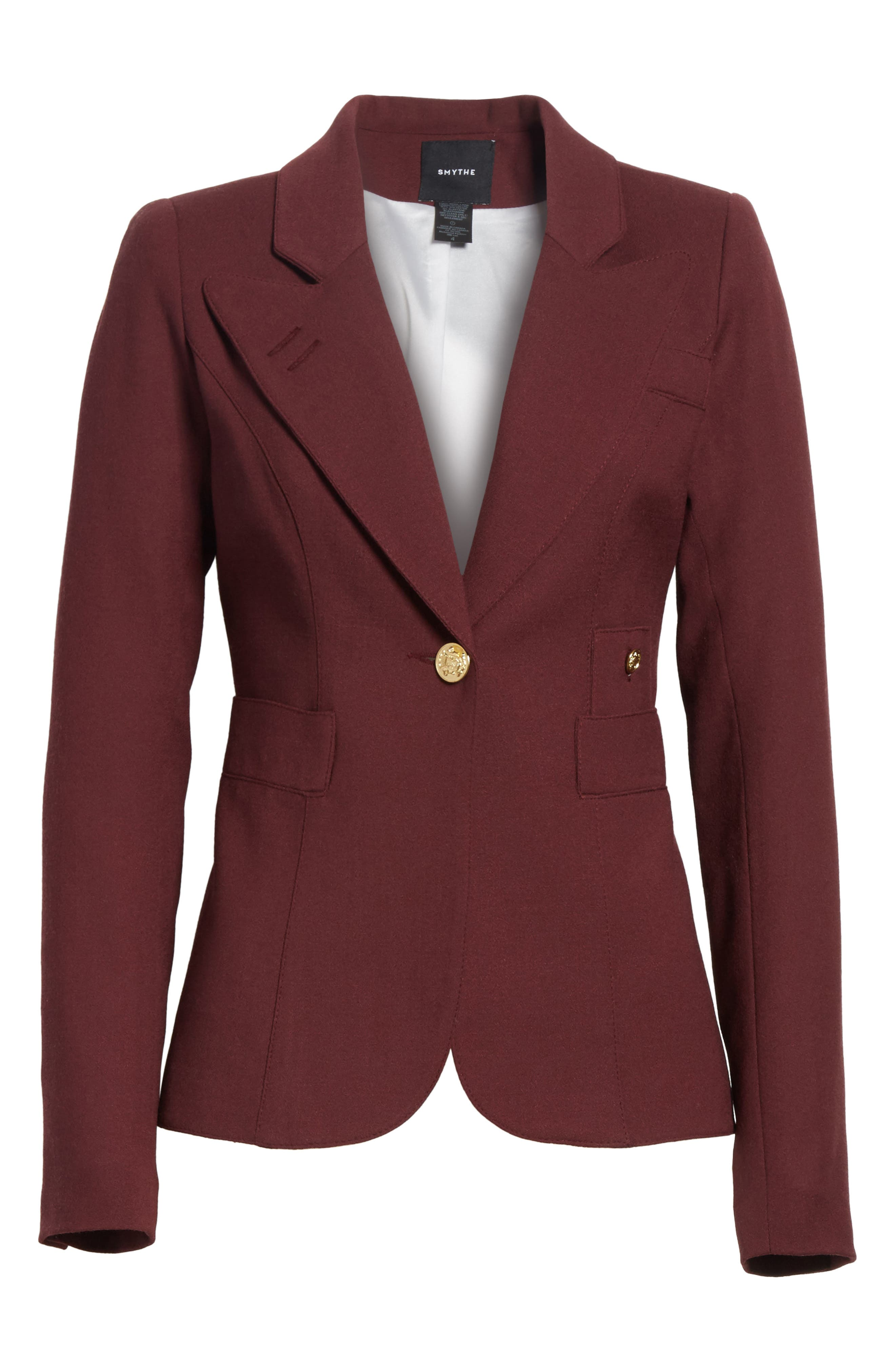 'Duchess' Single Button Blazer,                             Alternate thumbnail 25, color,