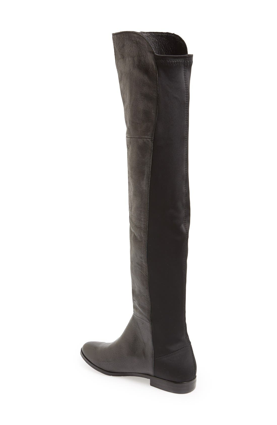'Riley' Over The Knee Boot,                             Alternate thumbnail 4, color,                             001