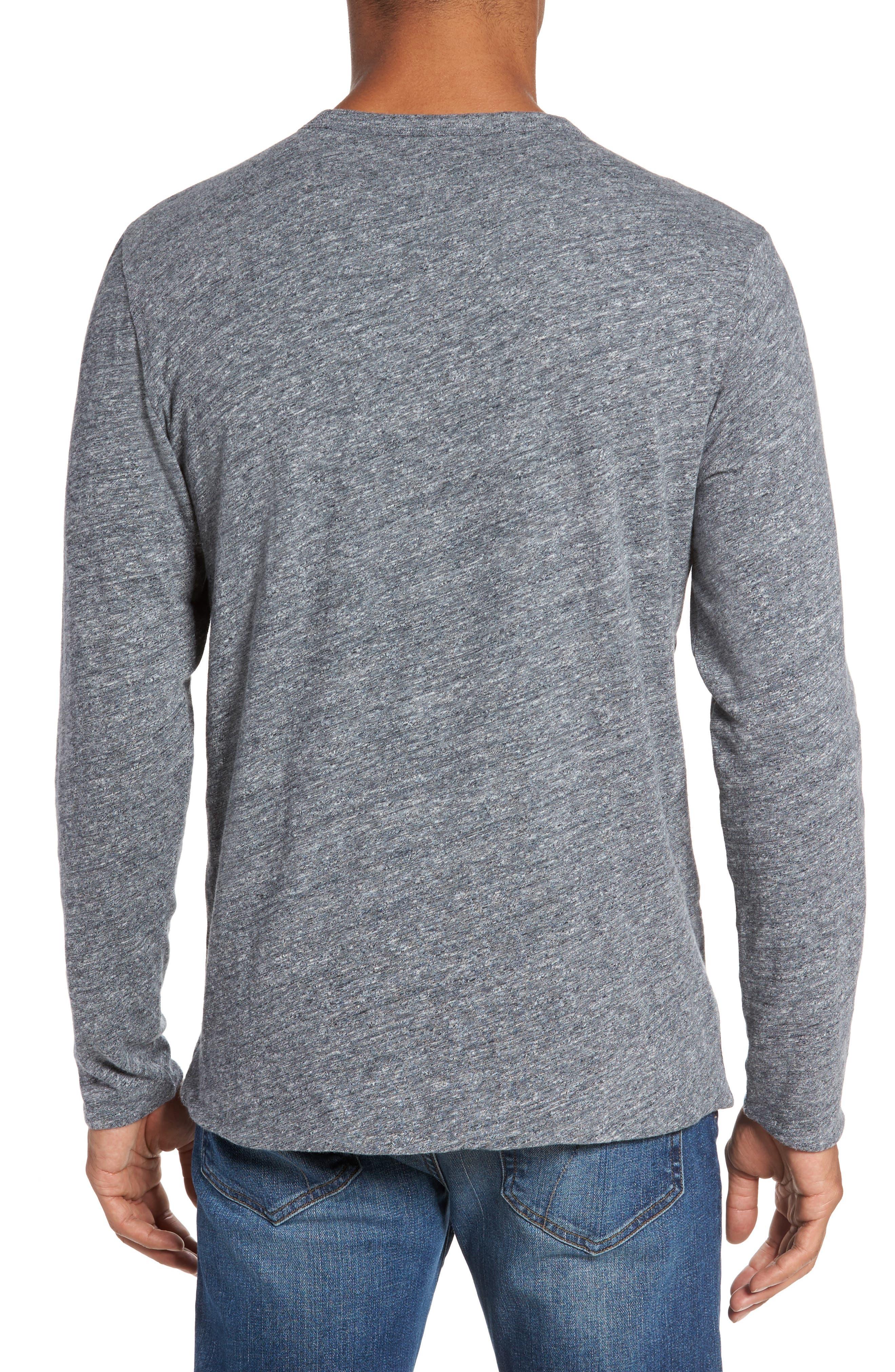 Reversible Long Sleeve Crewneck T-Shirt,                             Alternate thumbnail 2, color,                             038