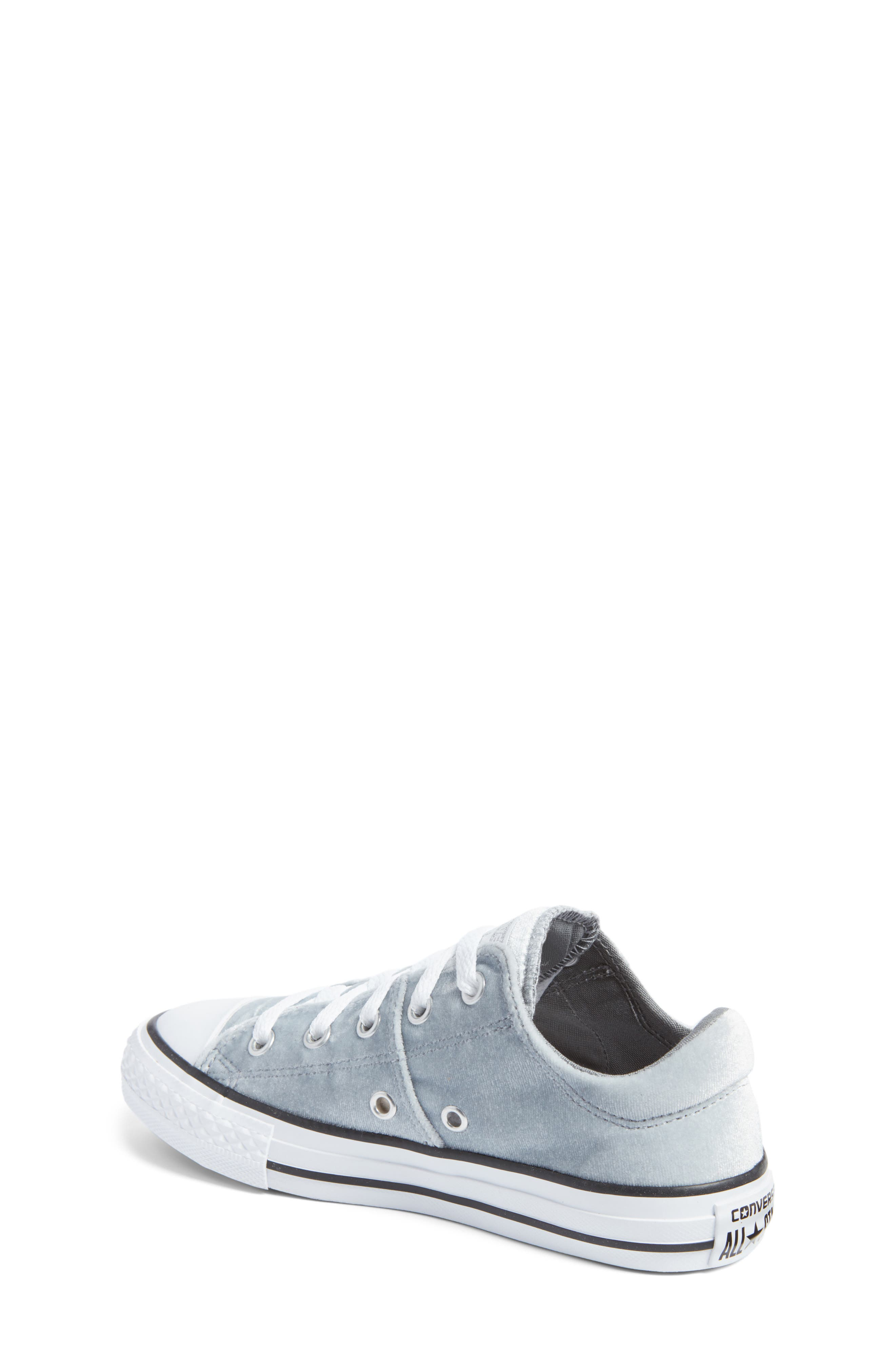 Chuck Taylor<sup>®</sup> All Star<sup>®</sup> Madison Velvet Low Top Sneaker,                             Alternate thumbnail 2, color,                             020