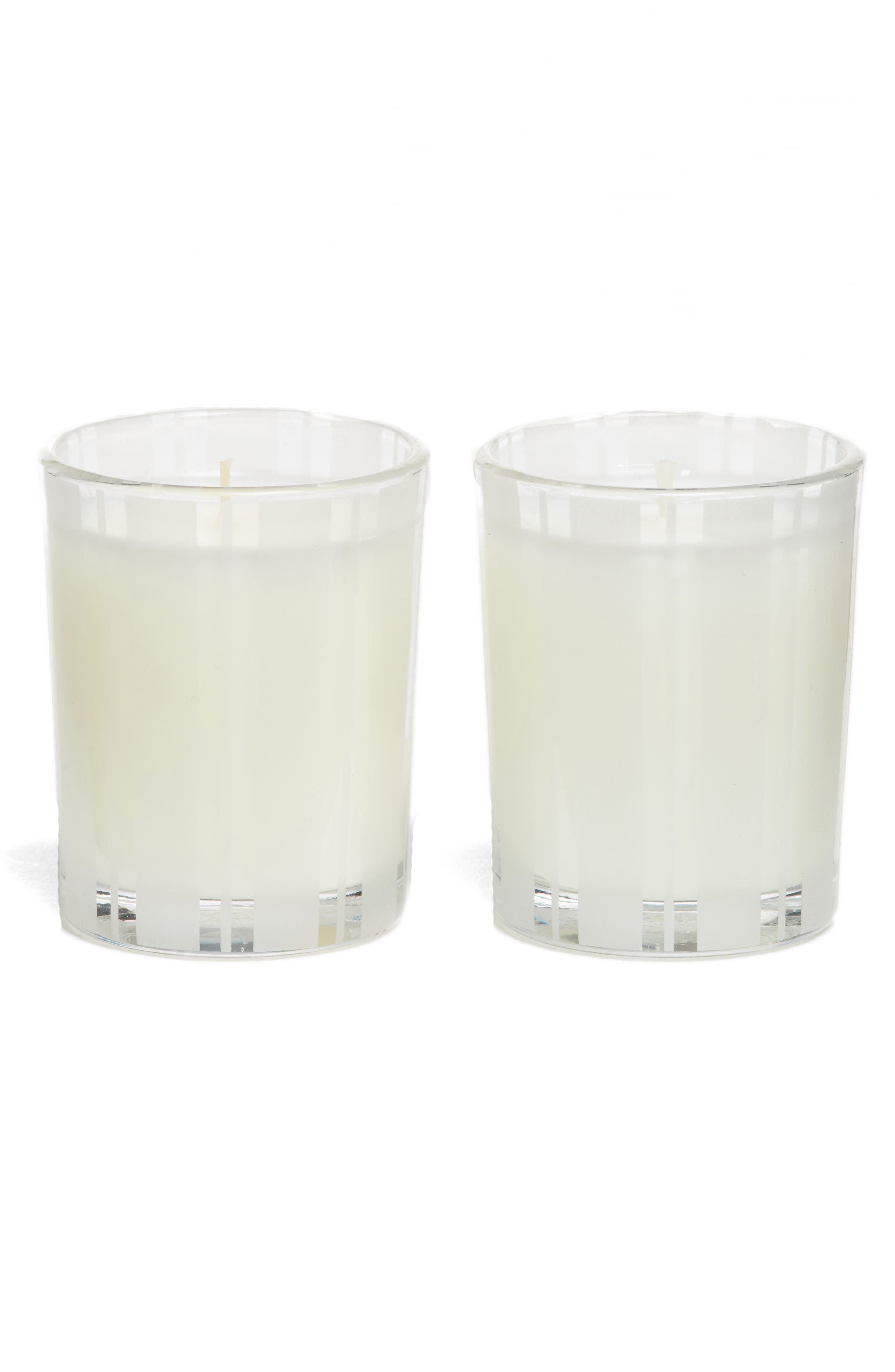 Bamboo & Grapefruit Votive Candle Duo,                             Main thumbnail 1, color,                             000