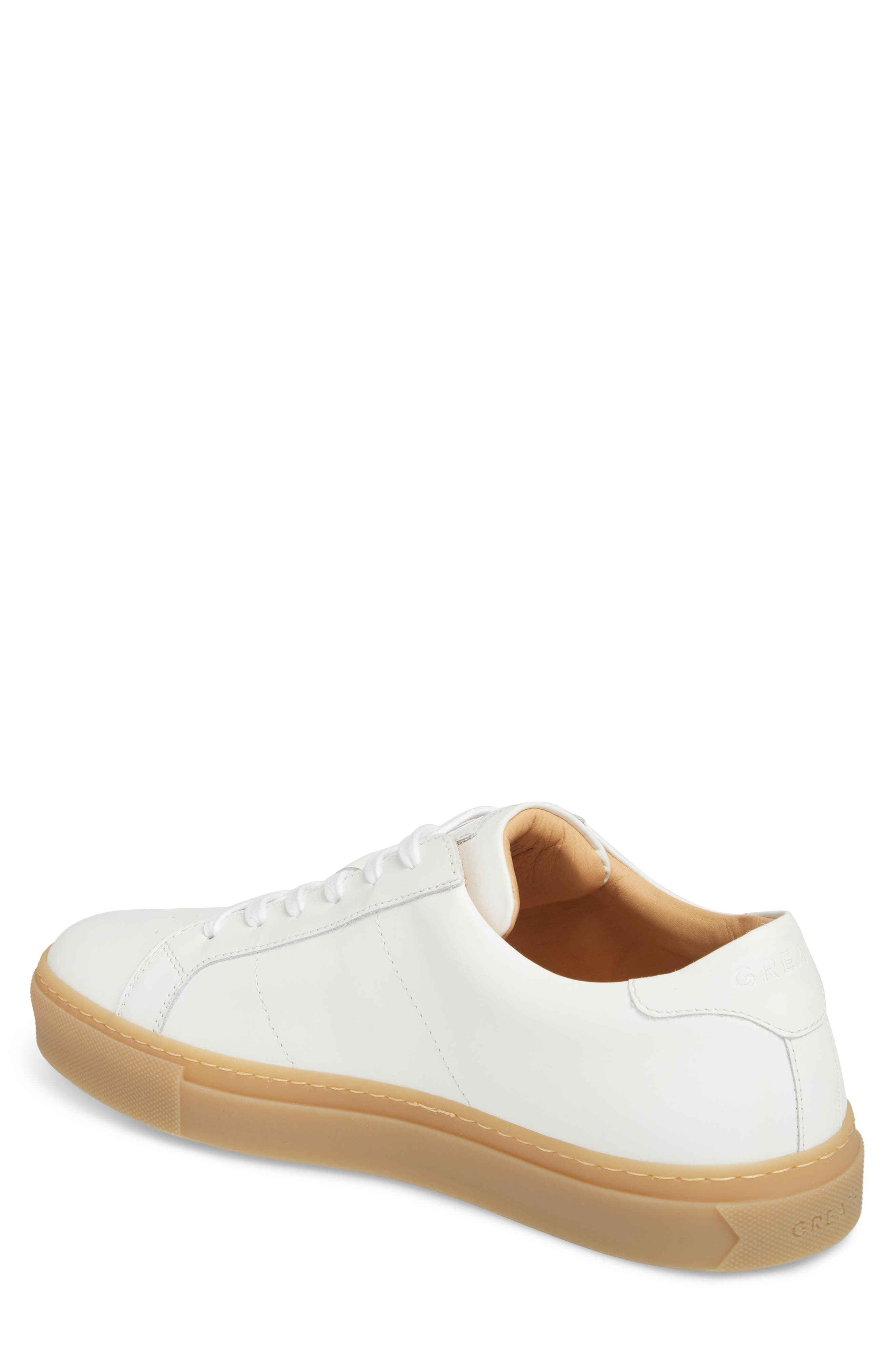Royale Reverse Sneaker,                             Alternate thumbnail 2, color,                             WHITE/ GUM