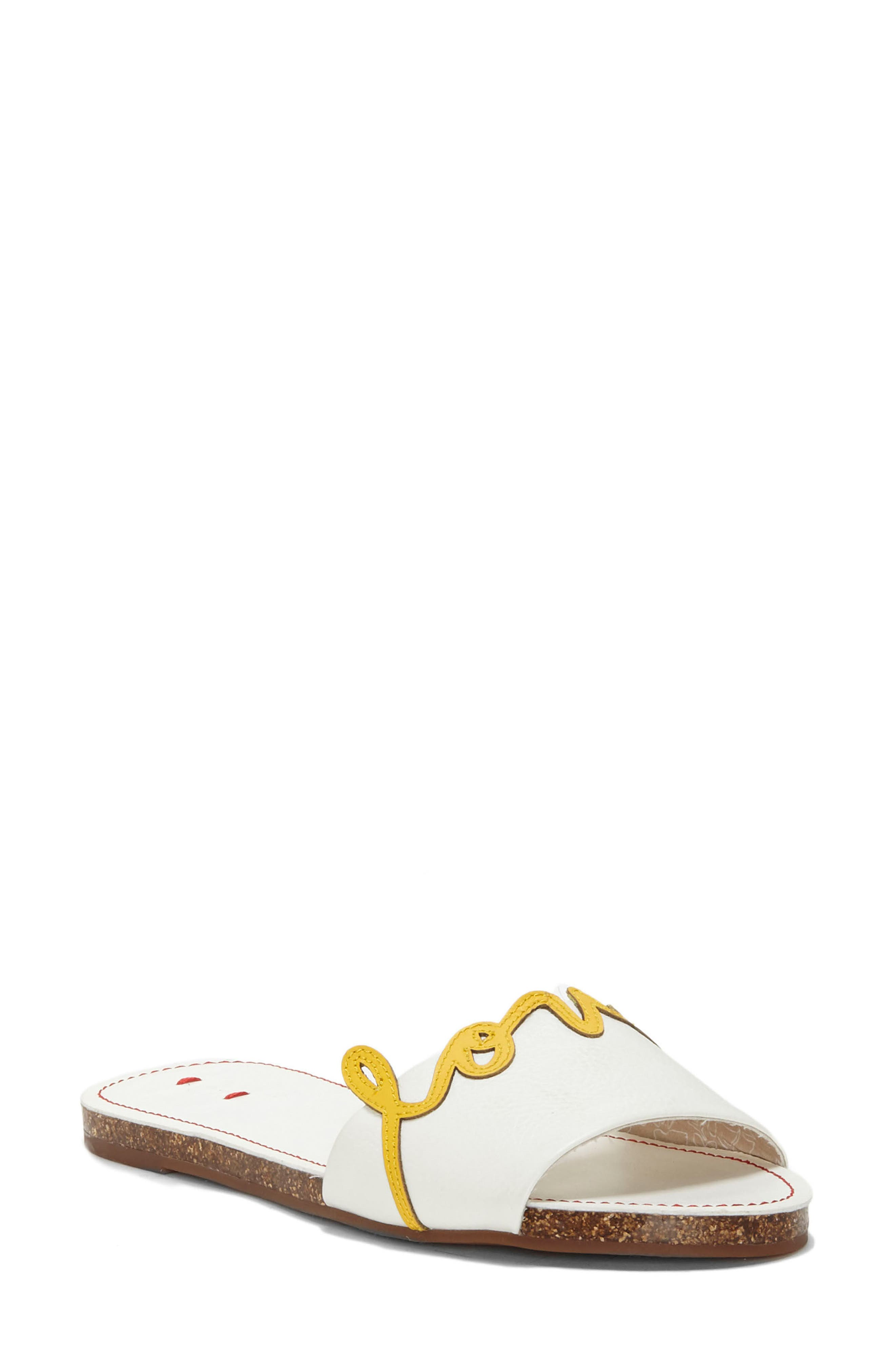 Sharlin Slide Sandal,                         Main,                         color, 110