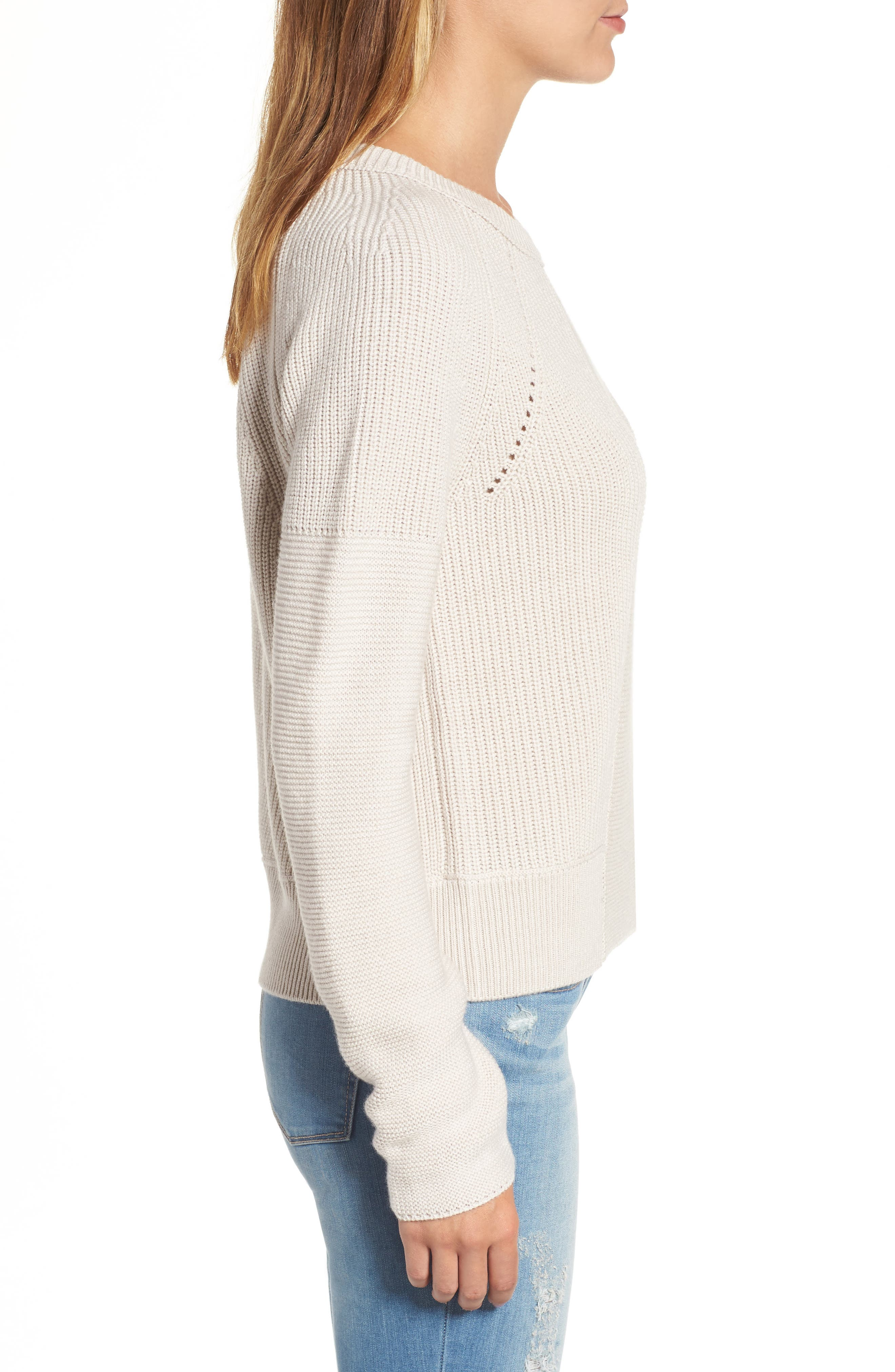 Engineered Stitch Sweater,                             Alternate thumbnail 3, color,                             251