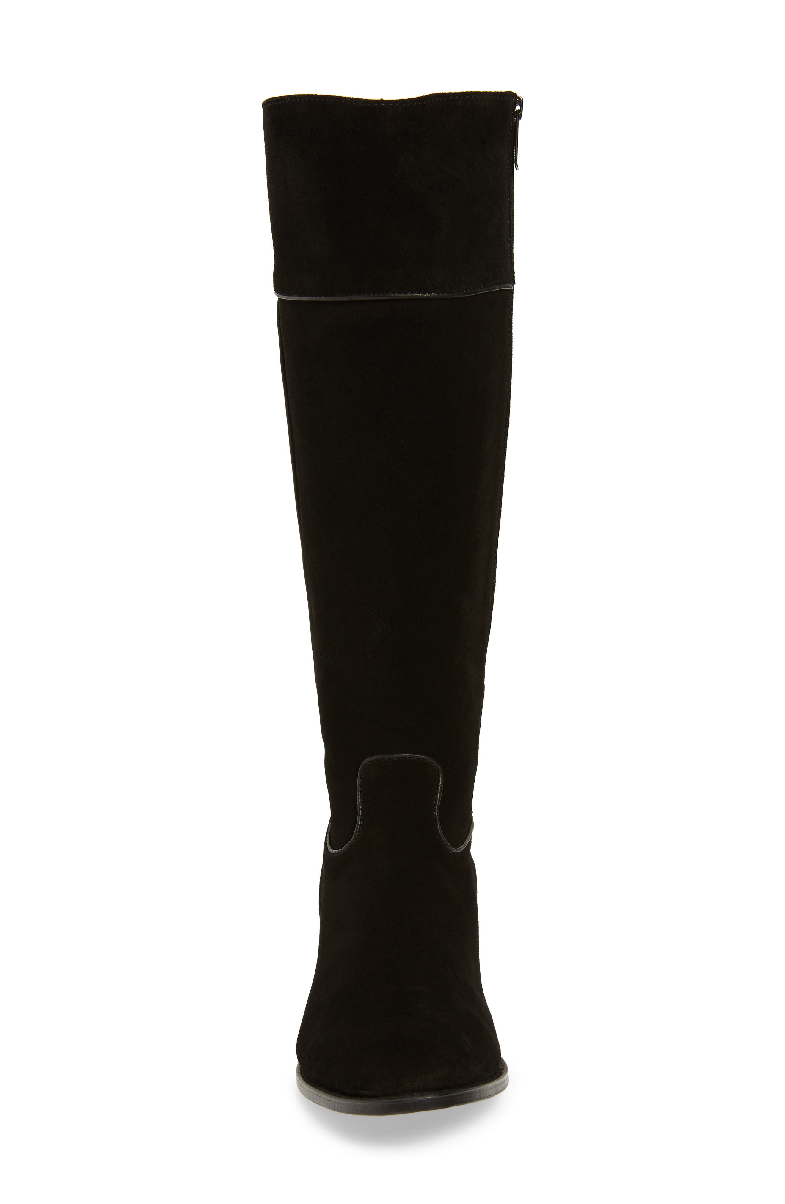 Two24 by Ariat Barcelona Boot,                             Alternate thumbnail 4, color,                             BLACK SUEDE