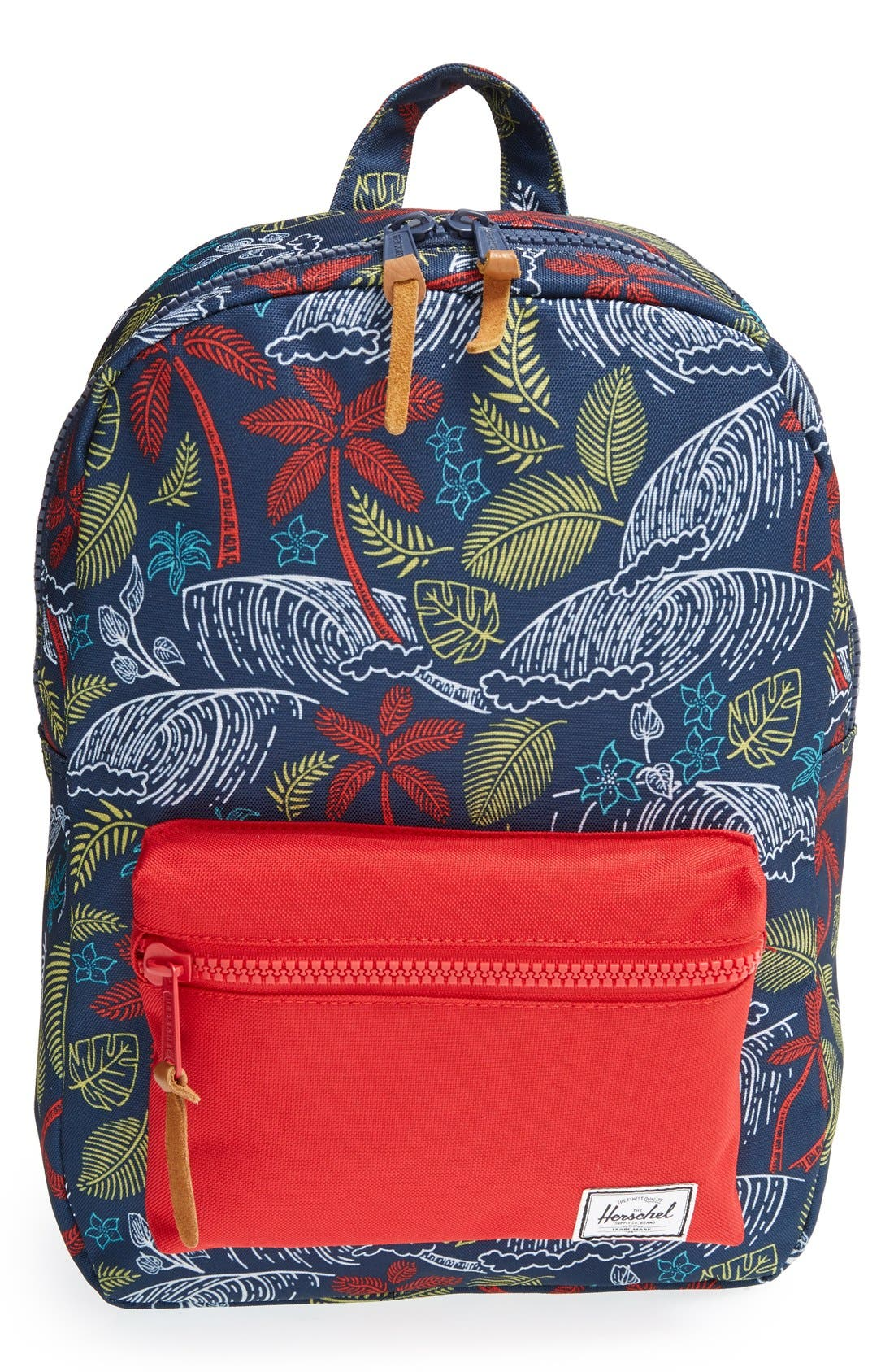 'Settlement' Tropical Print Backpack, Main, color, 462
