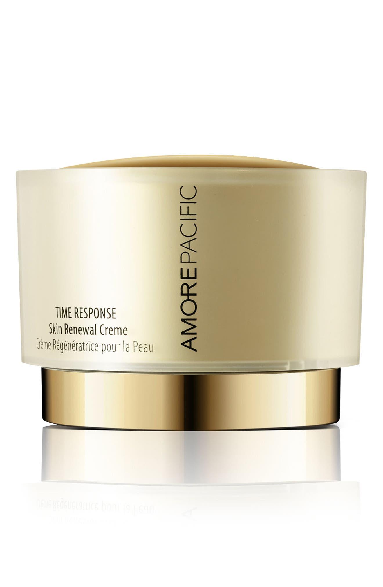 Time Response Skin Renewal Crème,                             Main thumbnail 1, color,                             000