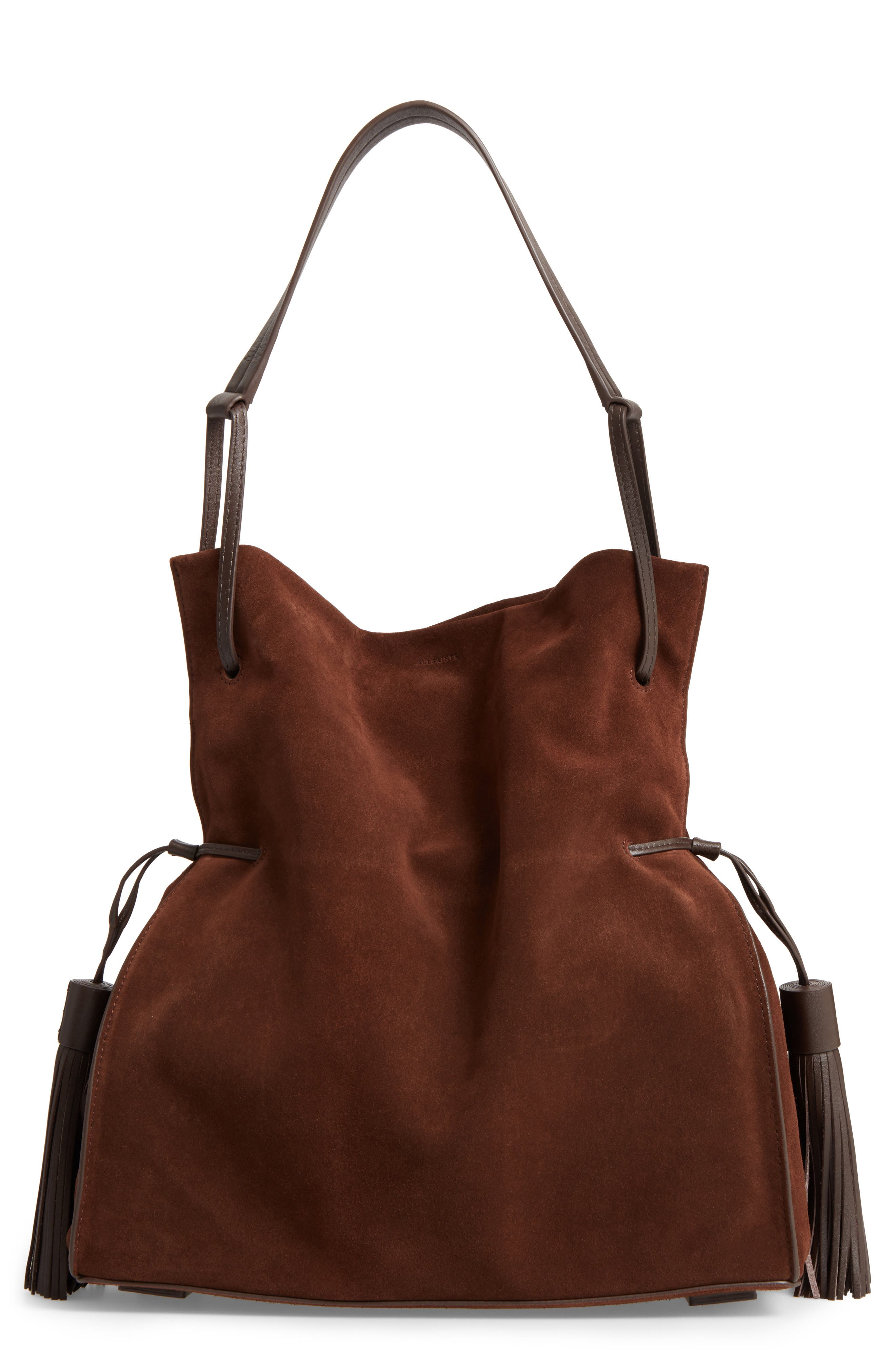 Freedom Suede Hobo,                             Main thumbnail 4, color,
