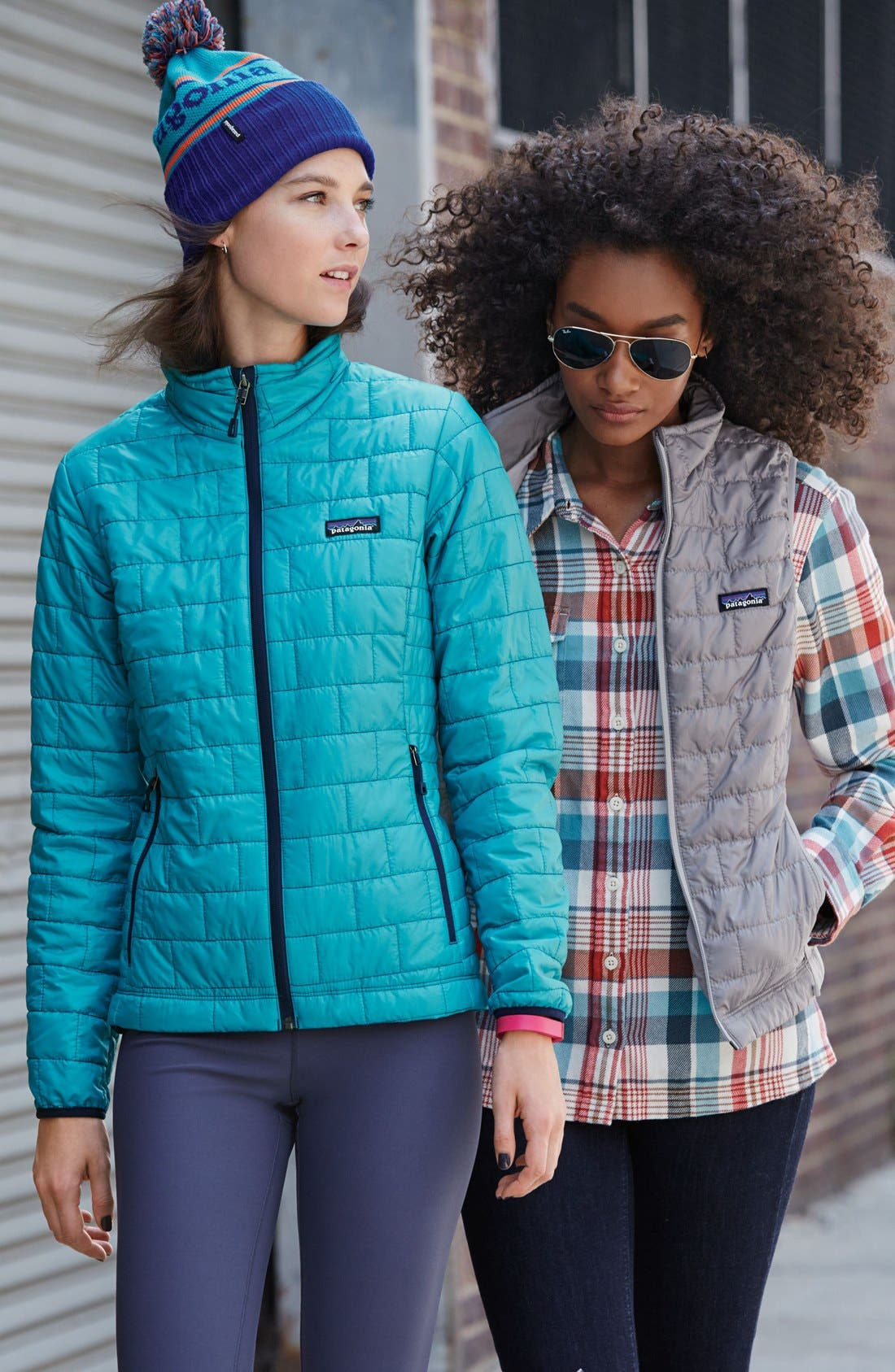 Nano Puff<sup>®</sup> Water Resistant Jacket,                             Alternate thumbnail 8, color,                             FEATHER GREY