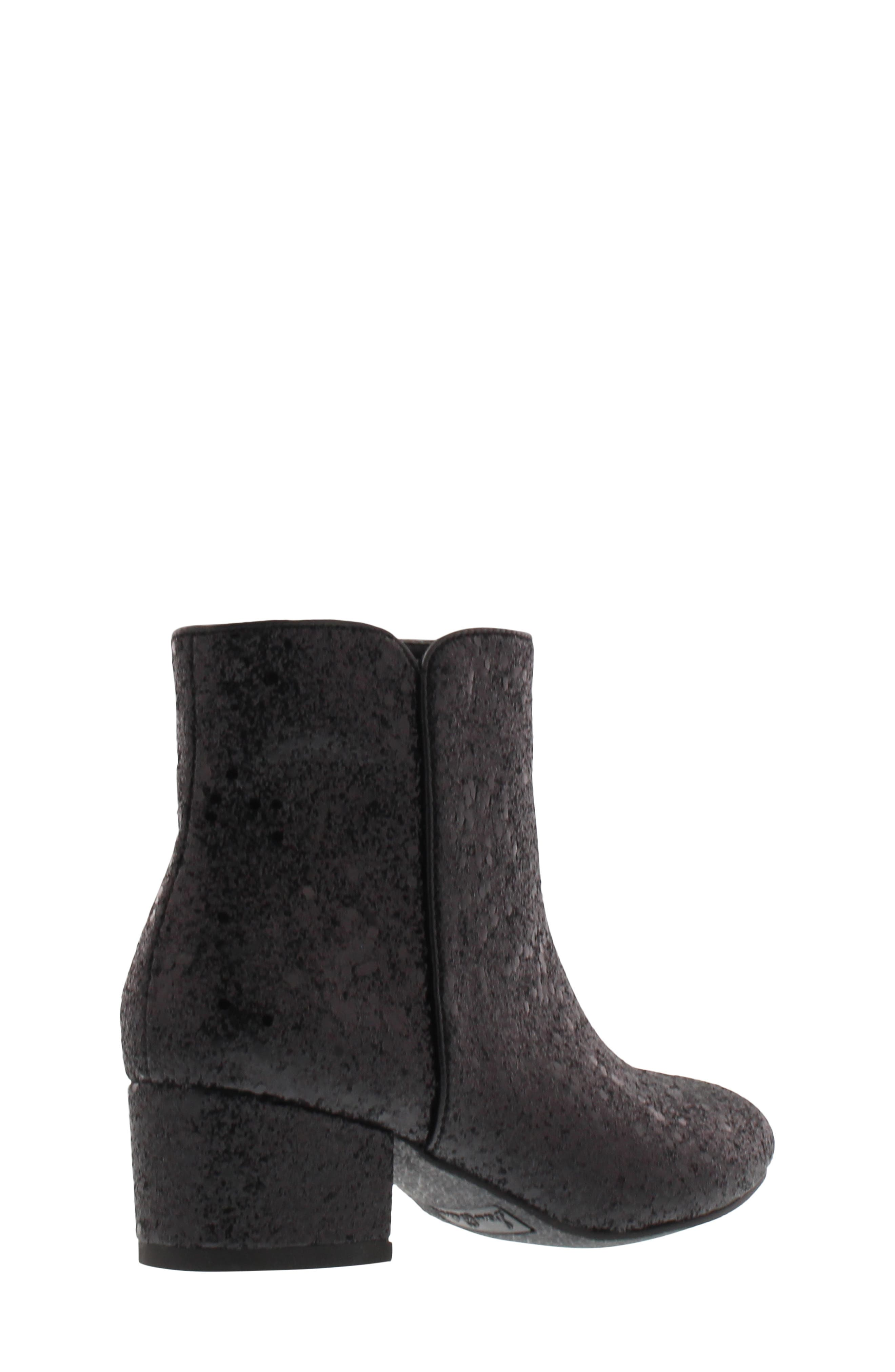 Evelyn Cosmos Bootie,                             Alternate thumbnail 2, color,                             BLACK