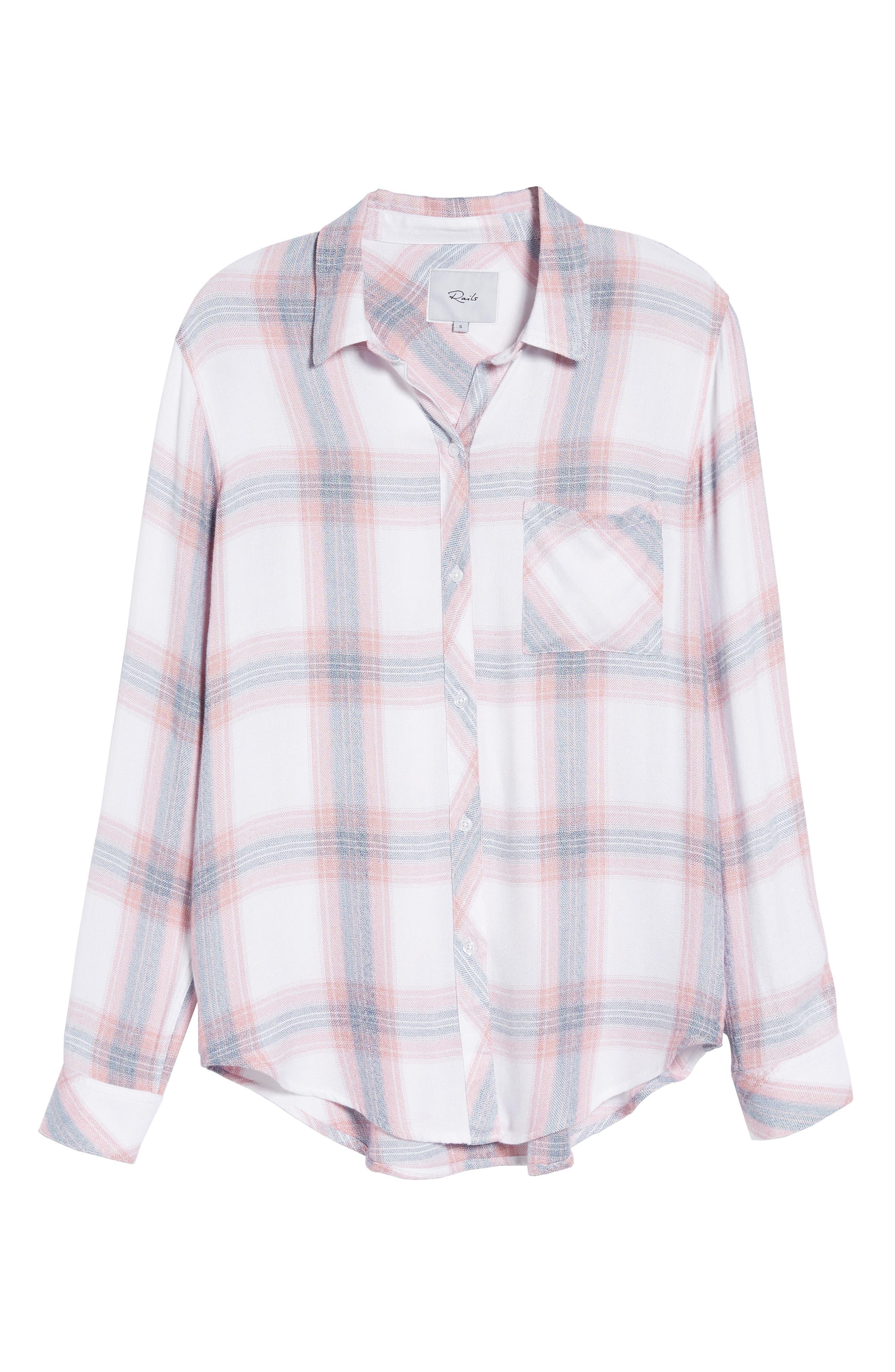 Hunter Plaid Shirt,                             Alternate thumbnail 705, color,