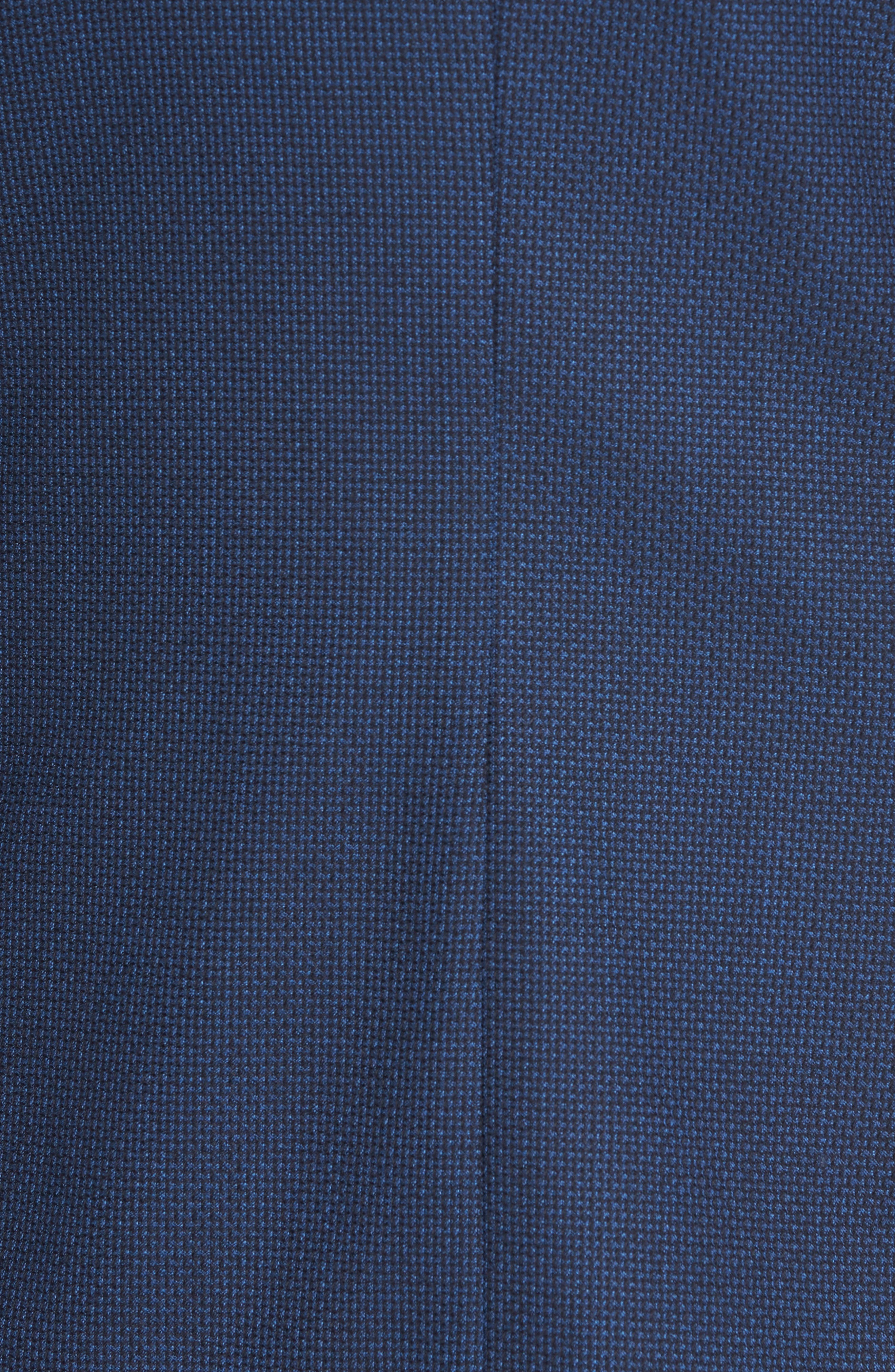 Nold Trim Fit Wool Blazer,                             Alternate thumbnail 6, color,                             BLUE