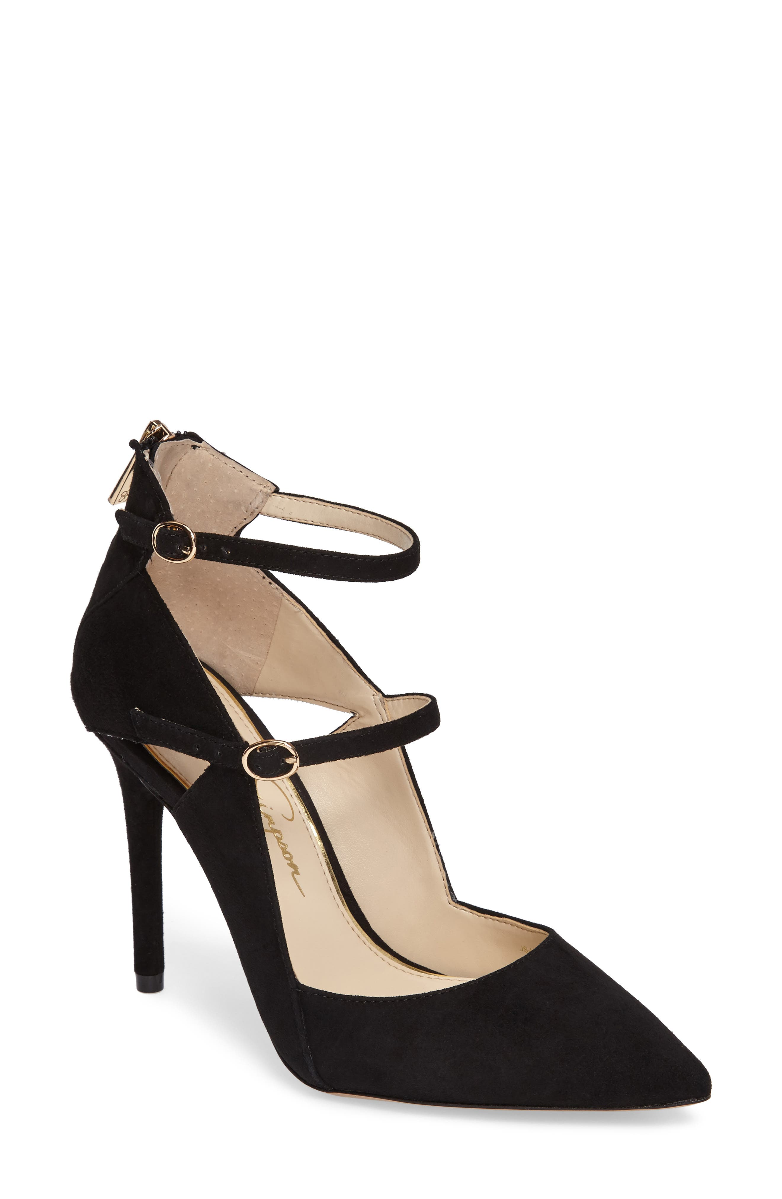 Liviana Pointy-Toe Pump,                         Main,                         color, 001