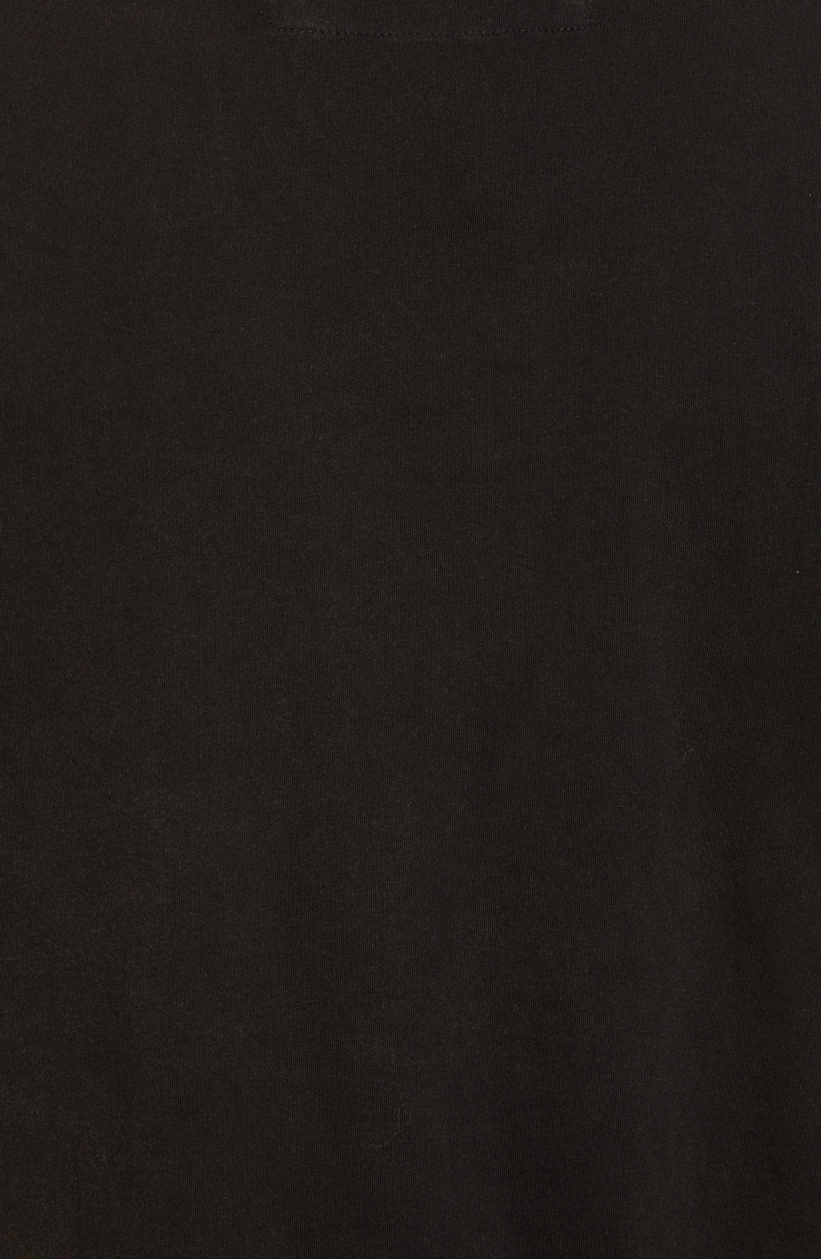 Guitar Rows Crewneck T-Shirt,                             Alternate thumbnail 5, color,