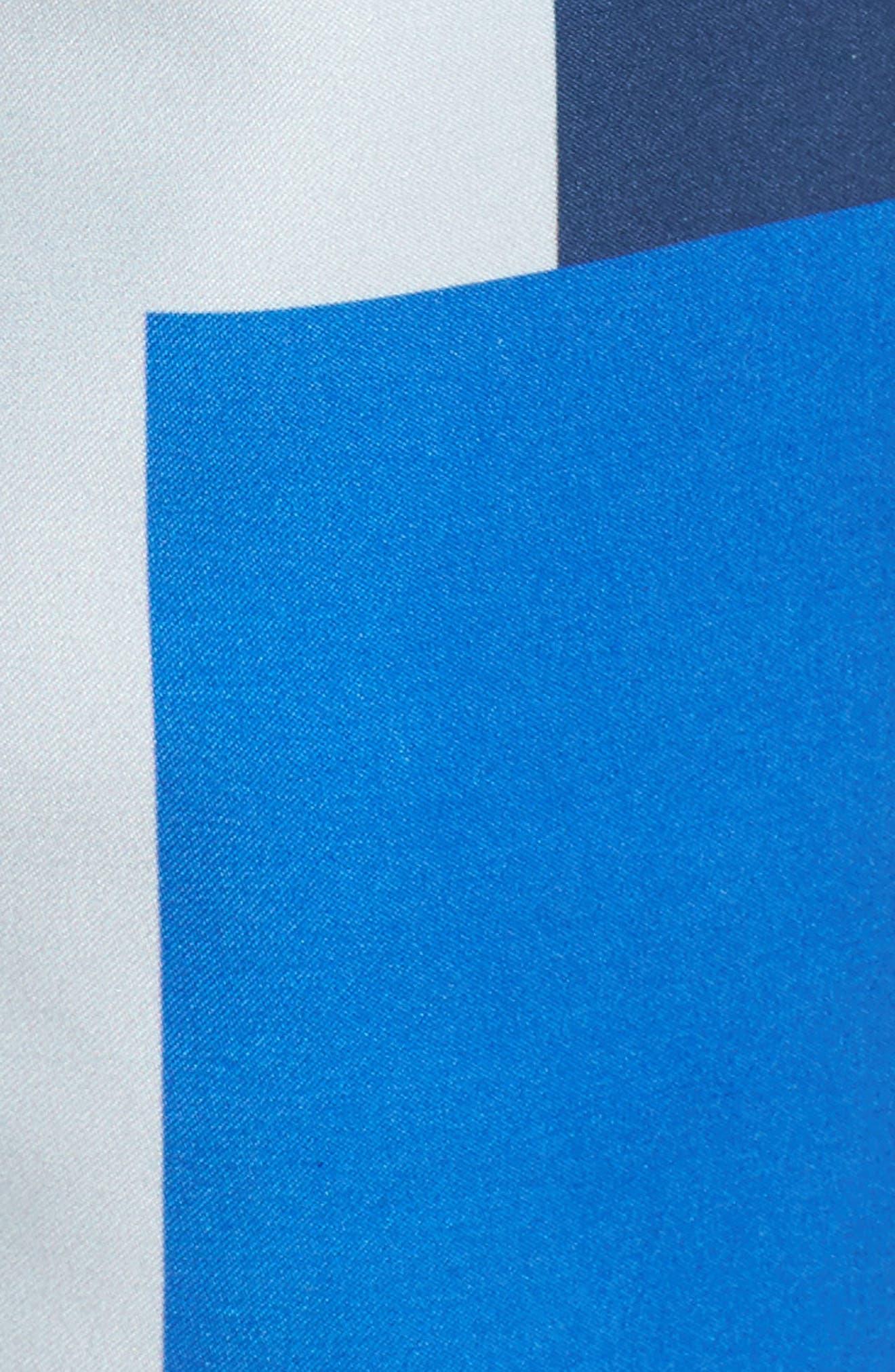 Javan Swim Trunks,                             Alternate thumbnail 5, color,                             BLUE