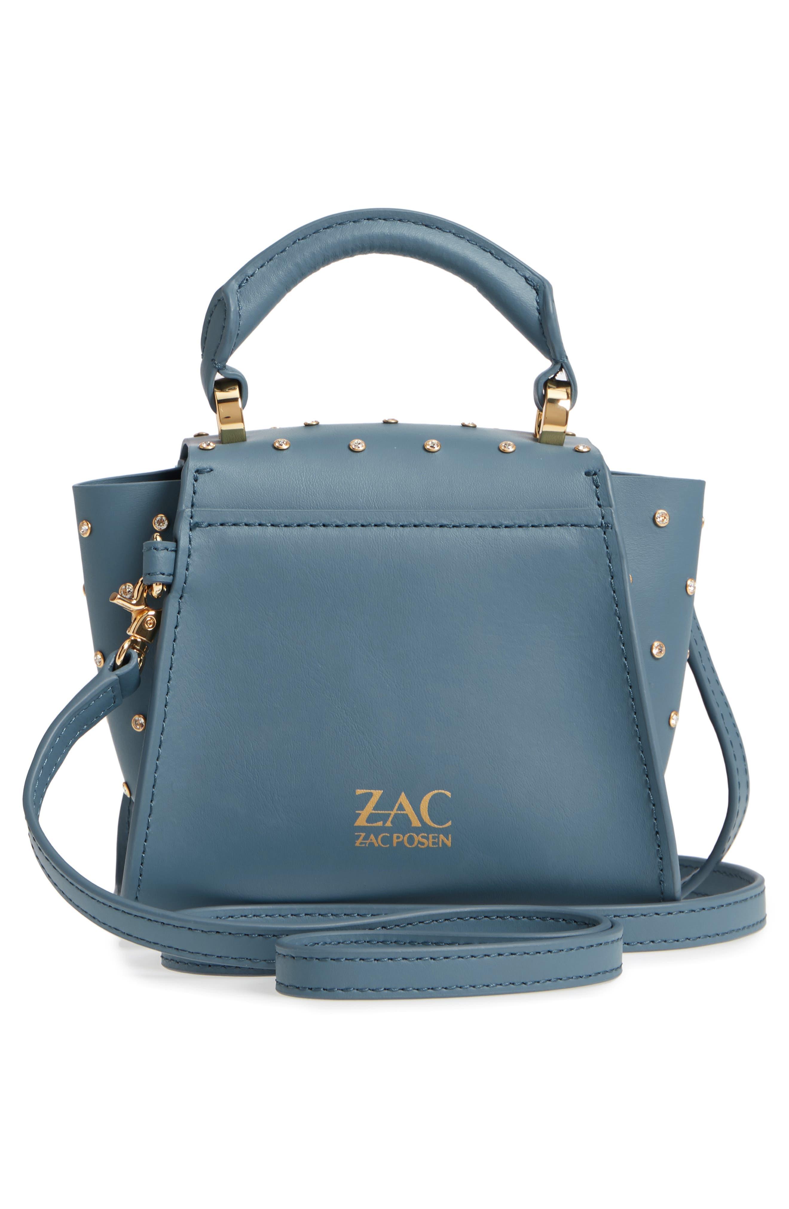 Mini Eartha Crystal Top Handle Bag,                             Alternate thumbnail 3, color,                             420