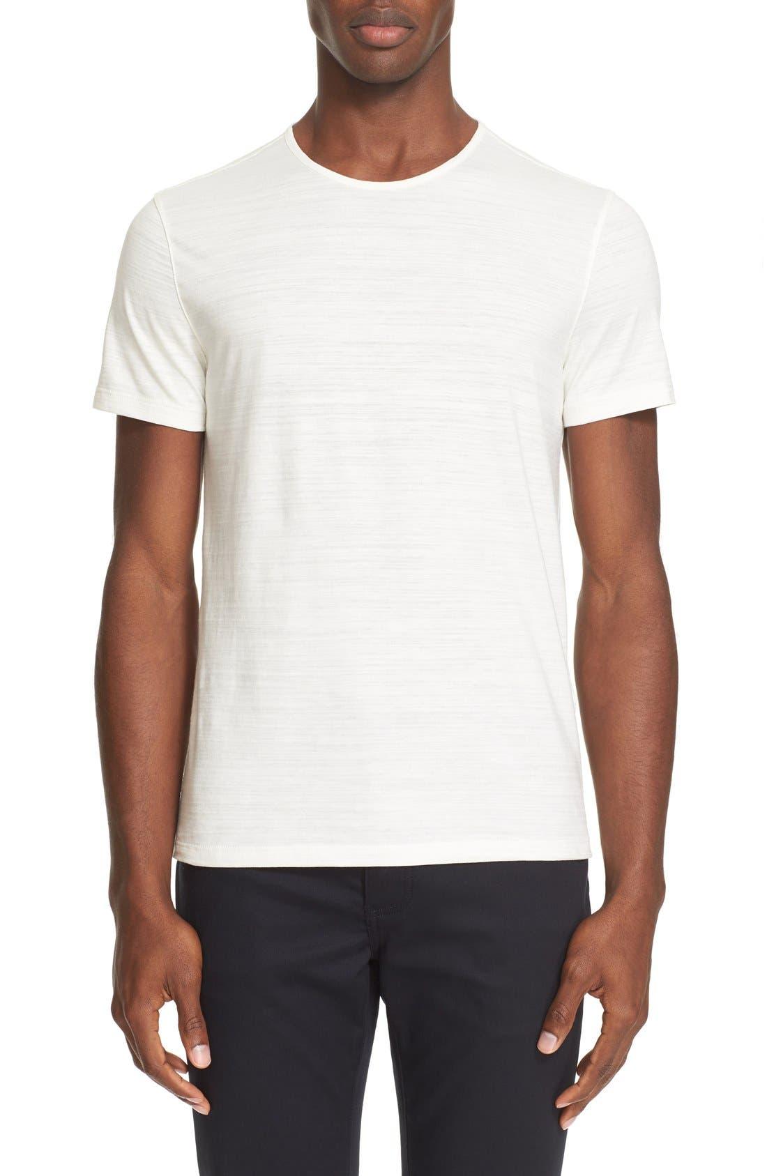 John Varvatos Slub Pima Cotton T Shirt Nordstrom