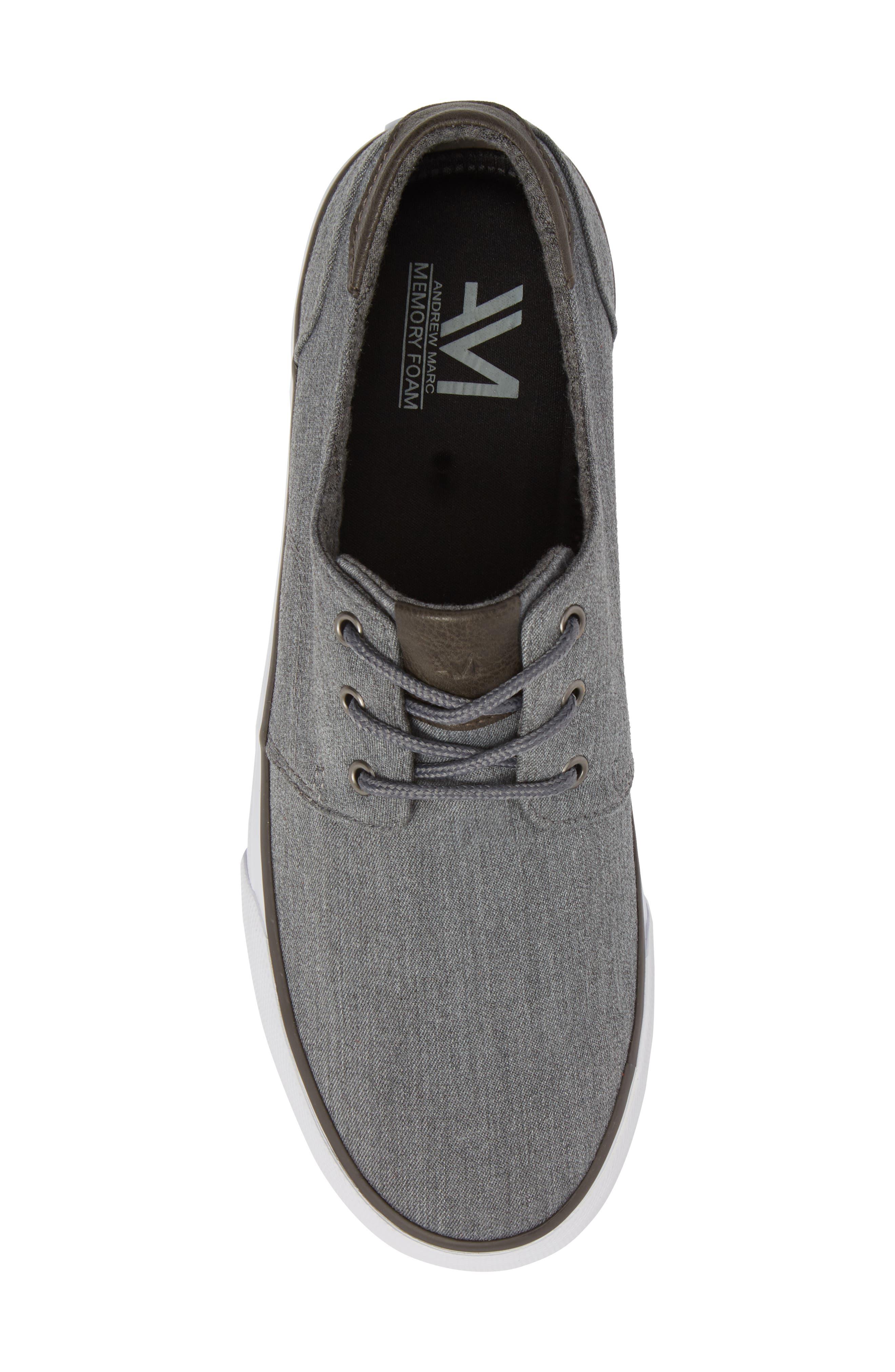 Briggs Low Top Sneaker,                             Alternate thumbnail 5, color,                             CHARCOAL/ DARK GREY/ WHITE