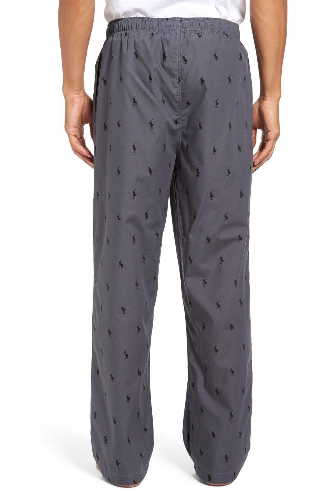 Cotton Lounge Pants,                             Alternate thumbnail 17, color,
