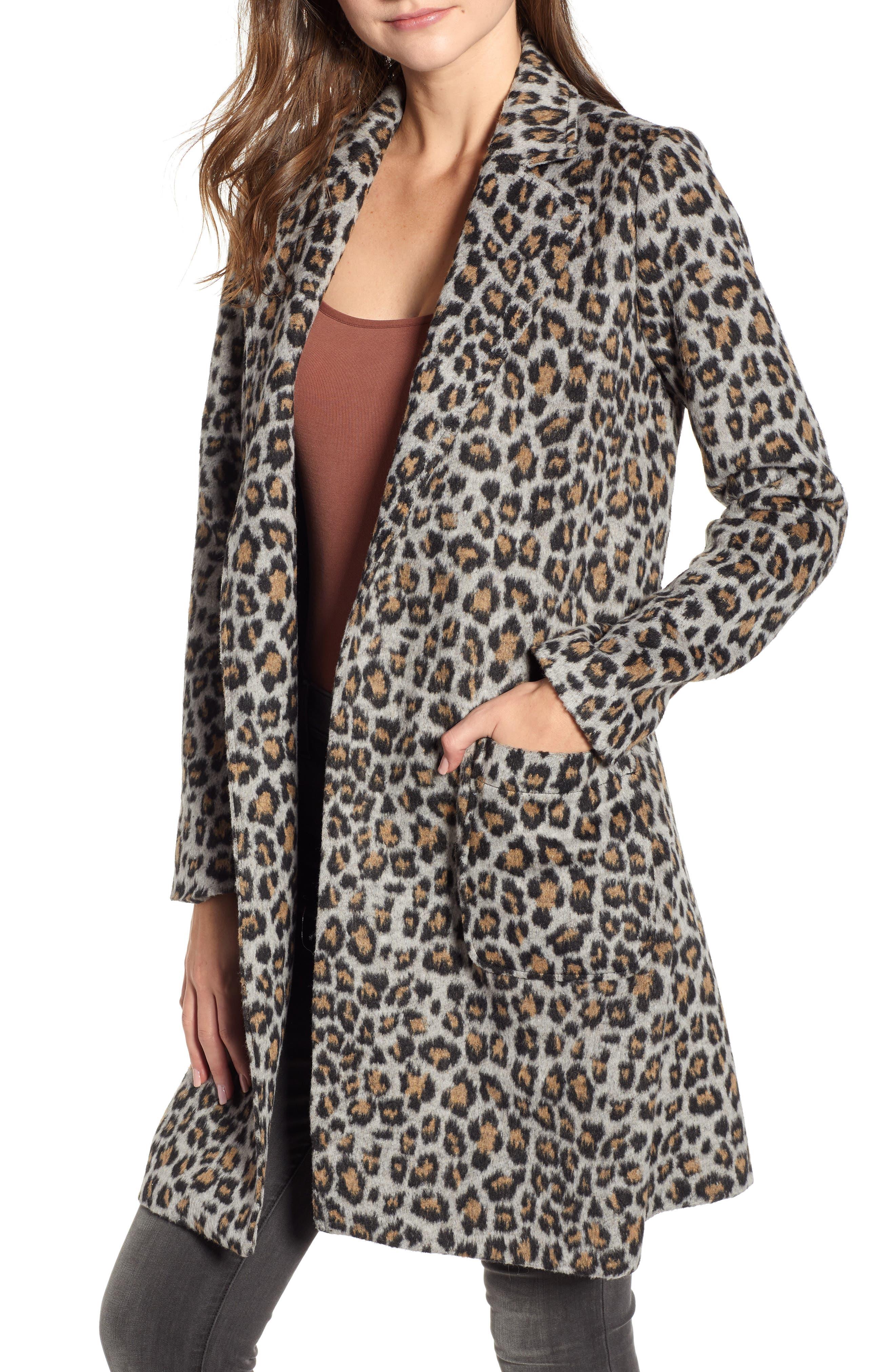 Sale alerts for  Leopard Belted Trench Coat - Covvet