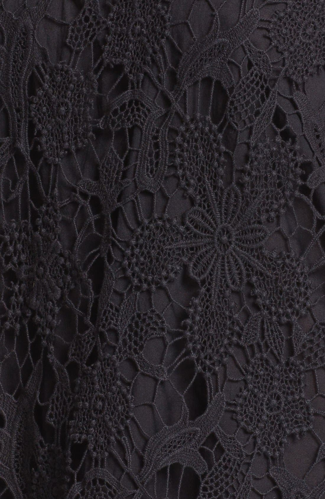 Crochet Top,                             Alternate thumbnail 2, color,                             001