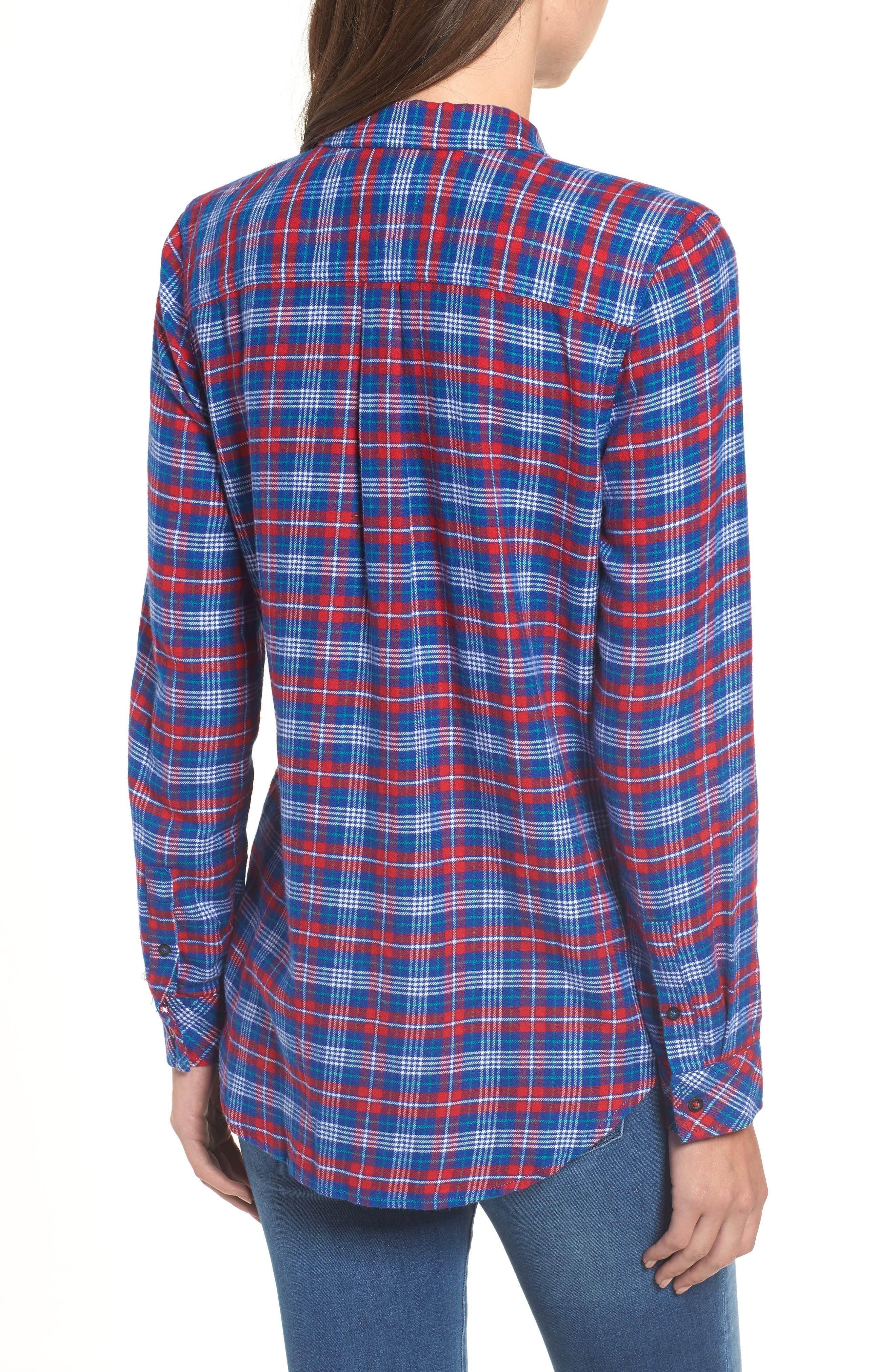 Multicolor Check Shirt,                             Alternate thumbnail 2, color,                             MULTI COLOR CHECK