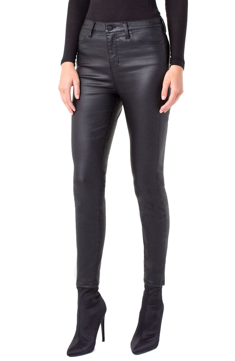 Liverpool ABBY COATED HIGH WAIST ANKLE JEANS
