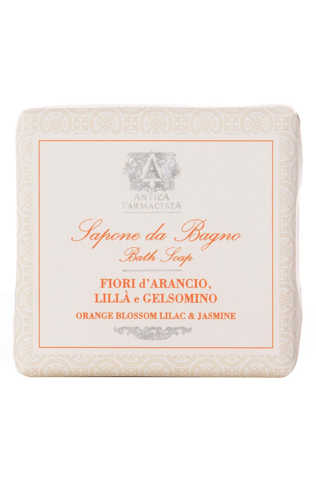 'Orange Blossom, Lilac & Jasmine' Bar Soap,                             Main thumbnail 1, color,                             000