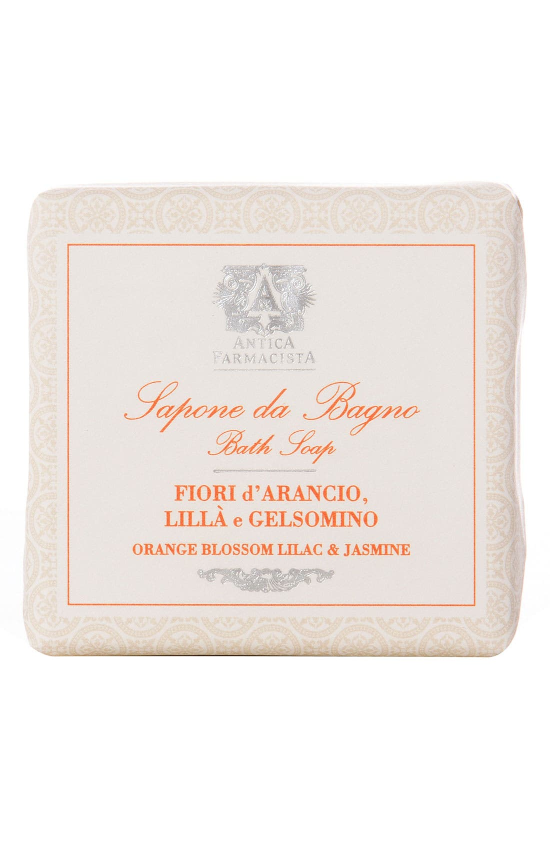 'Orange Blossom, Lilac & Jasmine' Bar Soap,                         Main,                         color, 000