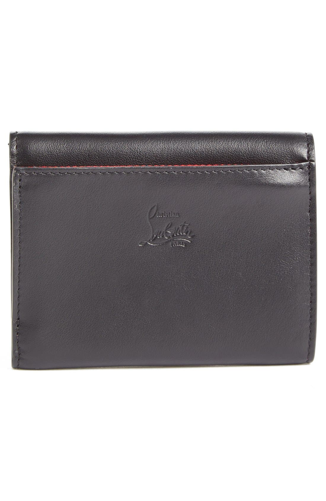Macaron Leather French Wallet,                             Alternate thumbnail 2, color,                             003