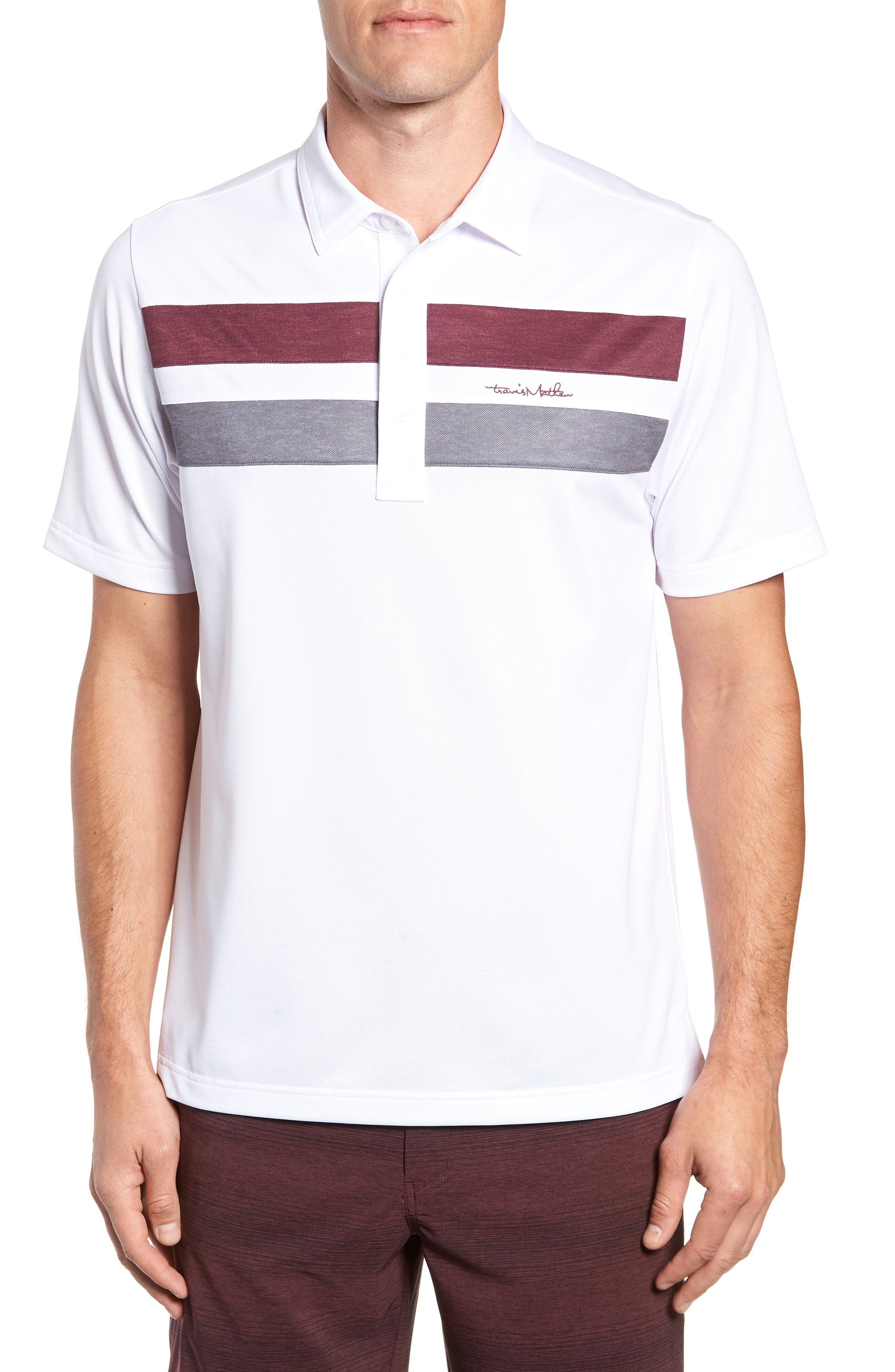 Big Six Regular Fit Polo,                         Main,                         color, WHITE