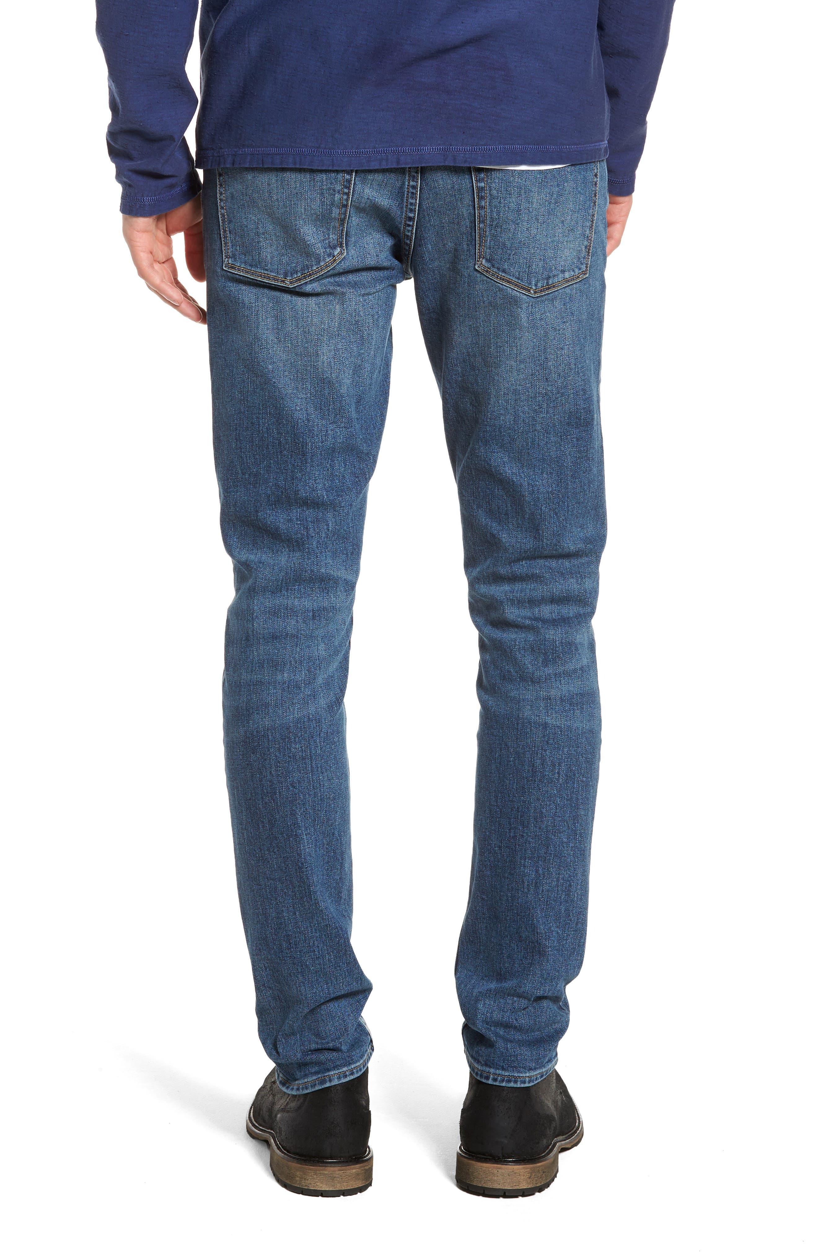 Skinny Fit Jeans,                             Alternate thumbnail 2, color,