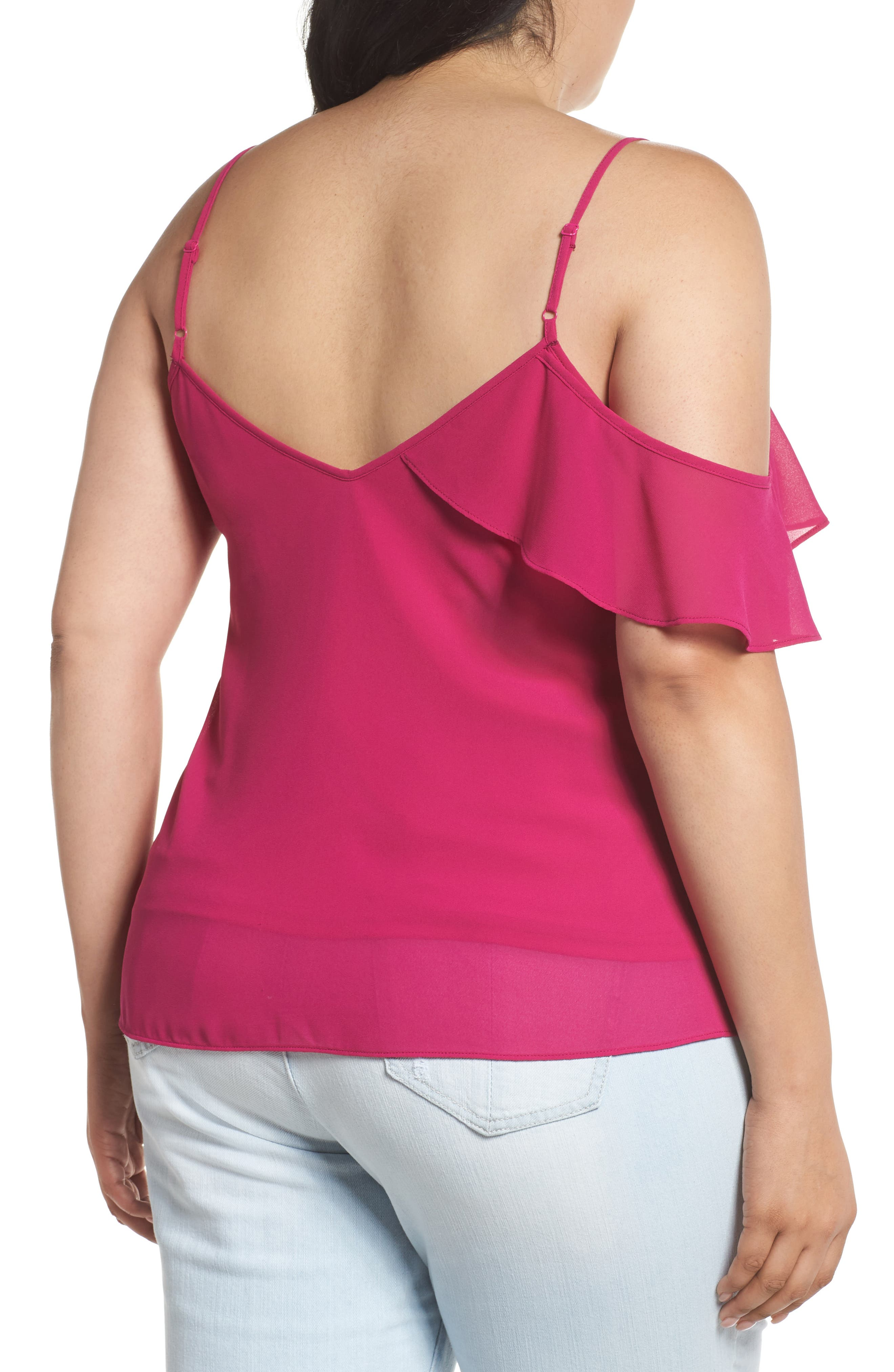One Ruffle Camisole,                             Alternate thumbnail 2, color,                             650
