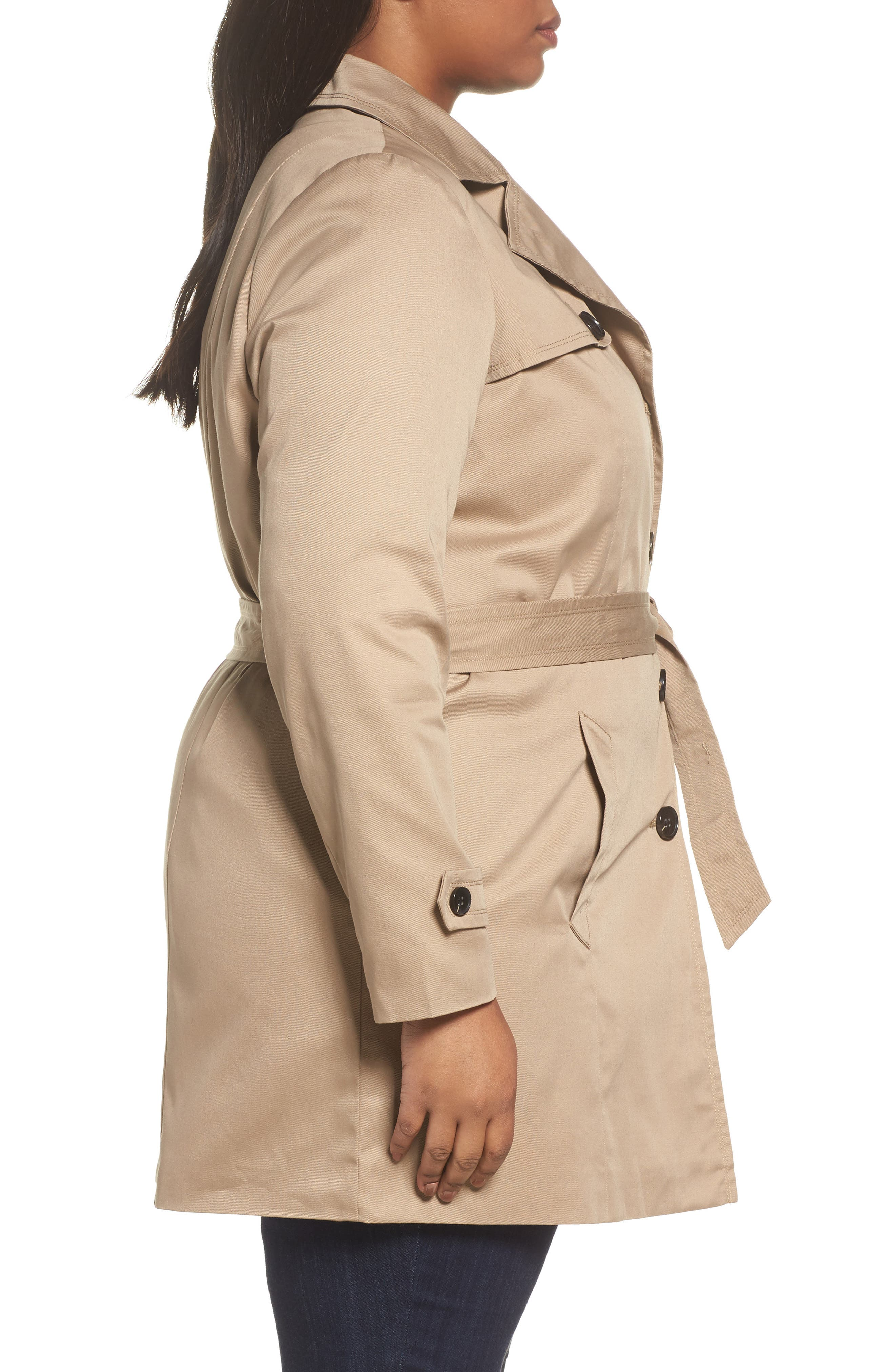 Trench Coat,                             Alternate thumbnail 3, color,                             251