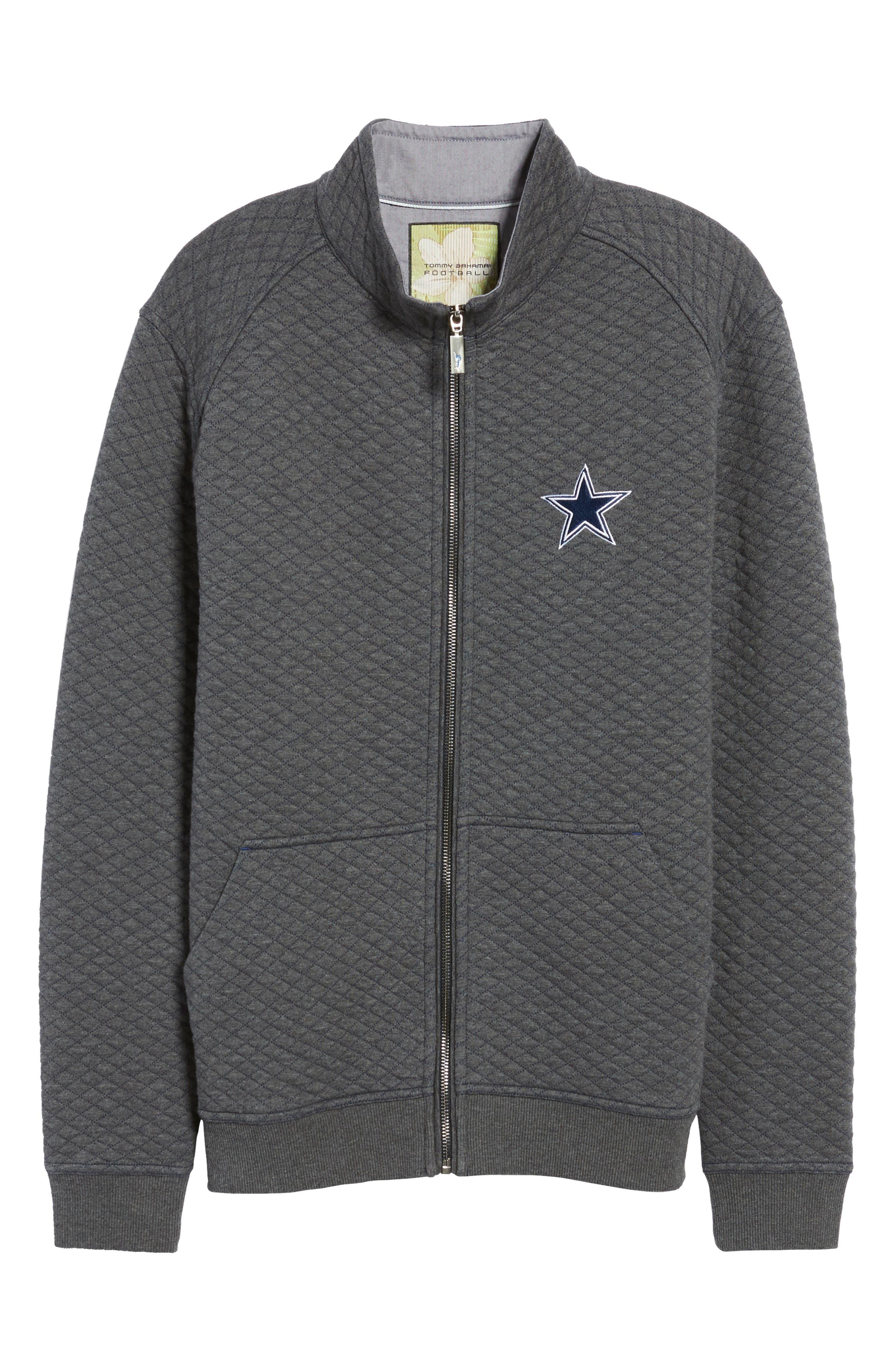 NFL Quiltessential Full Zip Sweatshirt,                             Alternate thumbnail 167, color,