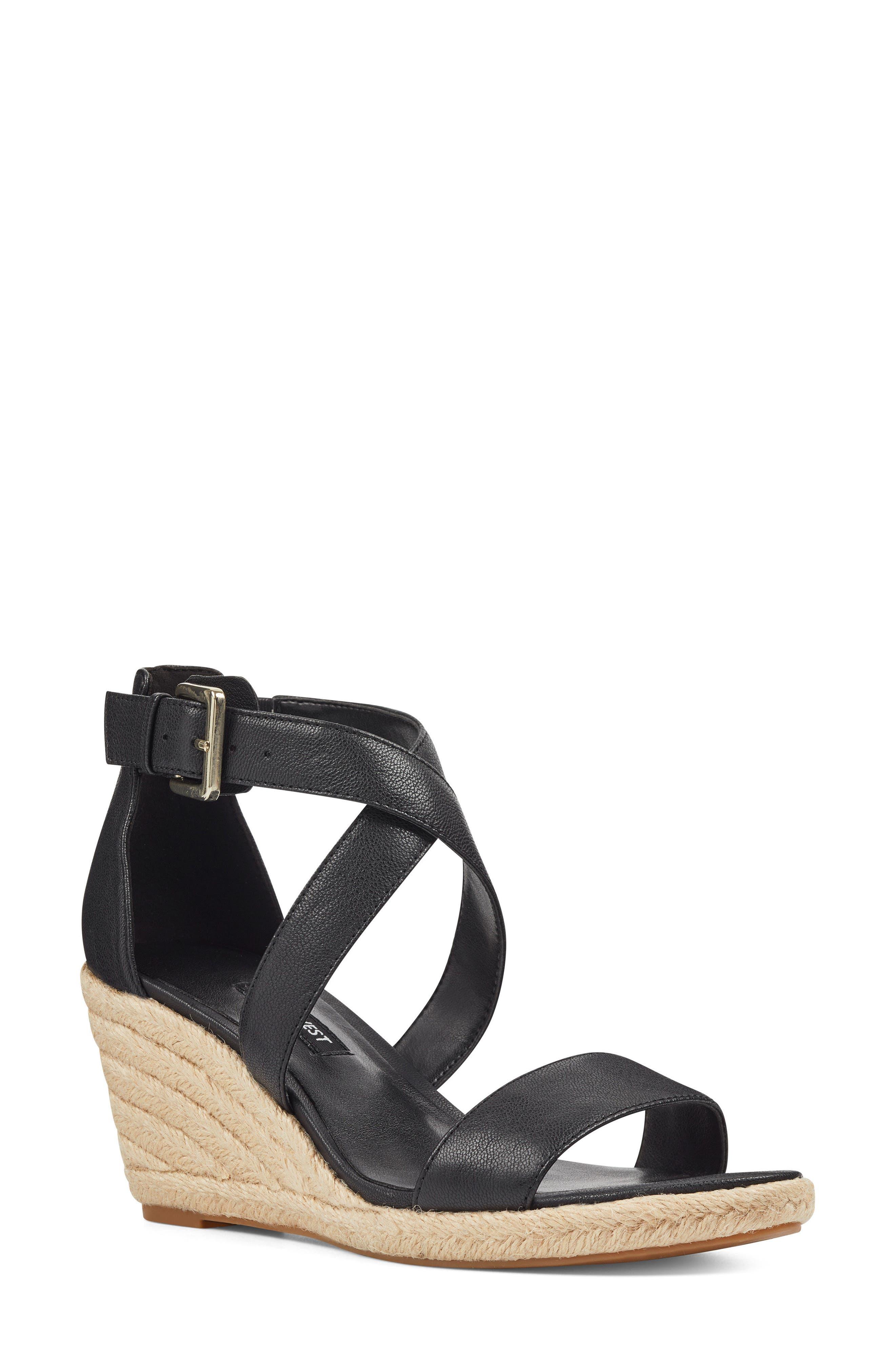 Jorjapeach Espadrille Wedge Sandal,                         Main,                         color, 001