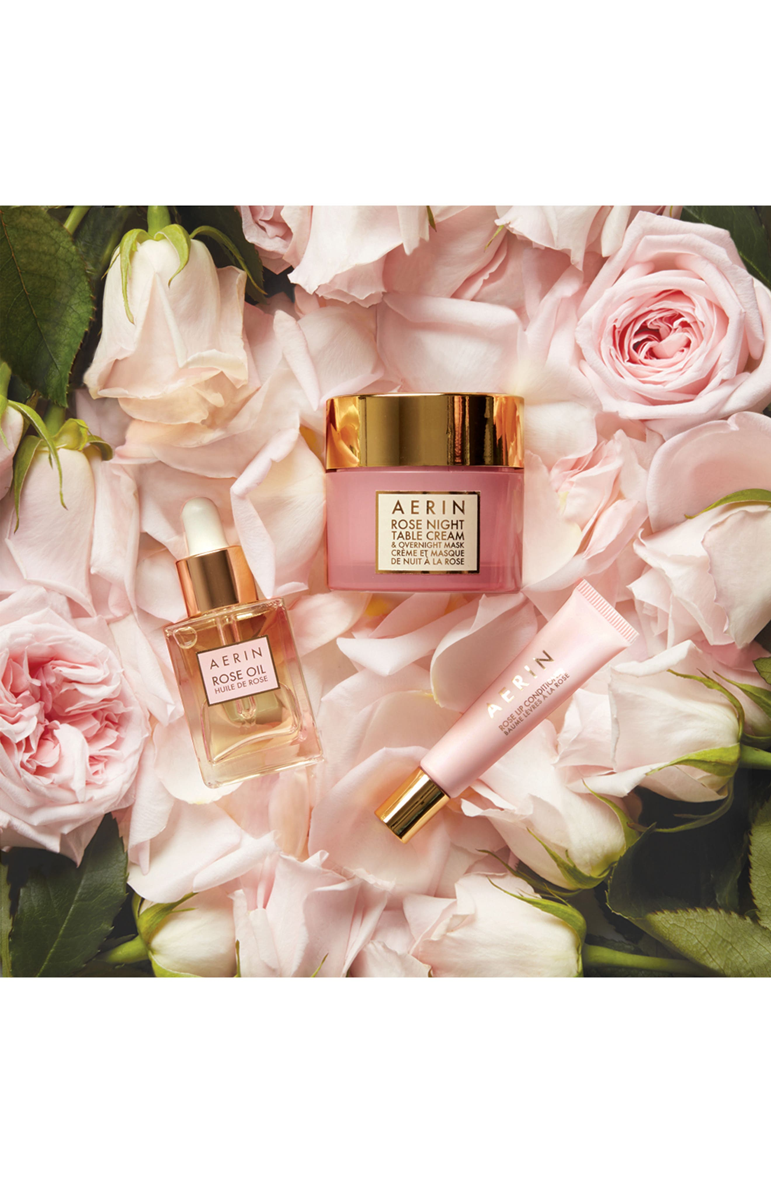 AERIN Beauty Rose Night Table Cream & Overnight Mask,                             Alternate thumbnail 3, color,                             NO COLOR