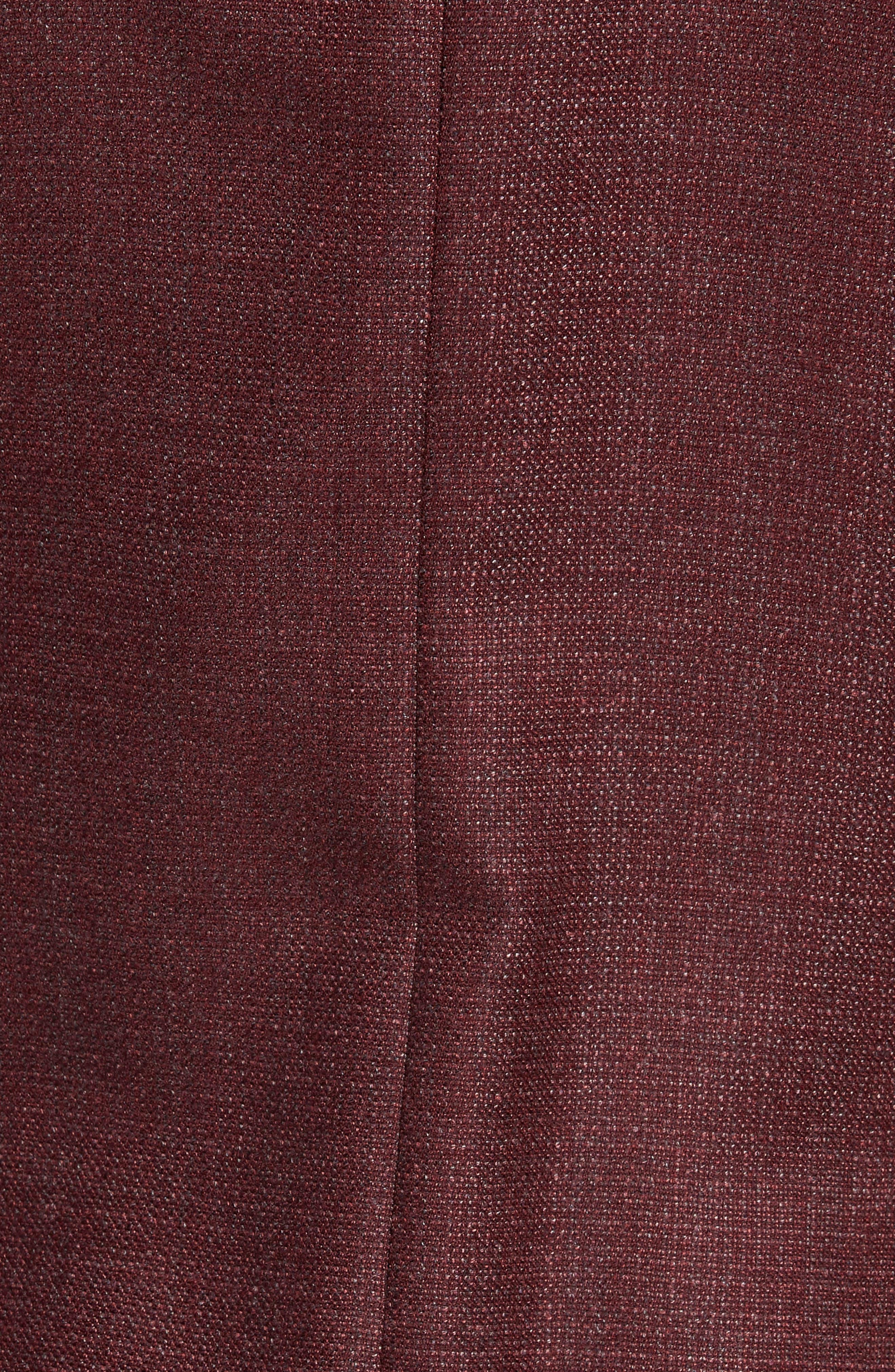 Weightless Classic Fit Wool & Silk Sport Coat,                             Alternate thumbnail 6, color,                             BURGUNDY