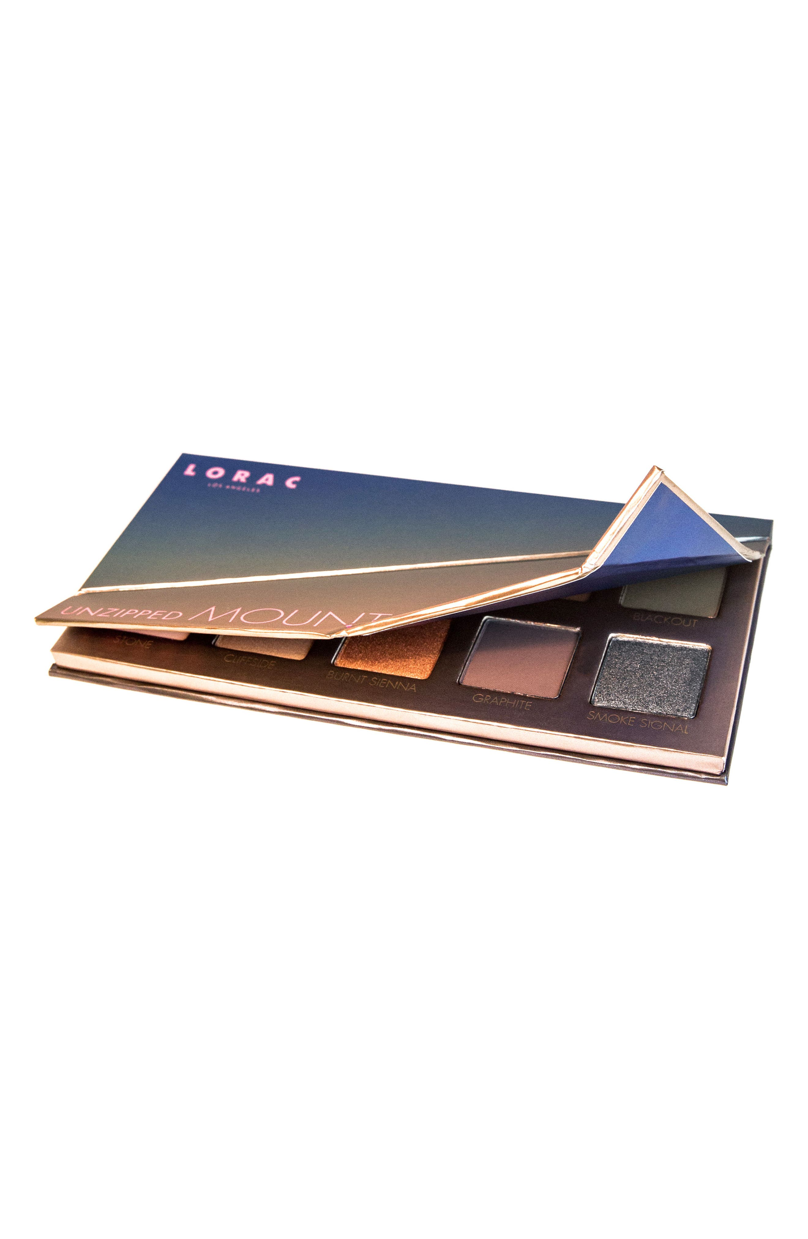 Unzipped Mountain Sunset Eyeshadow Palette,                             Alternate thumbnail 3, color,                             000