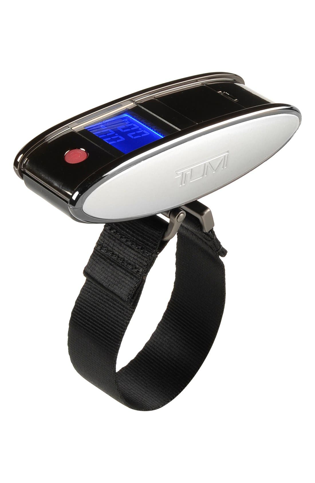 Digital Luggage Scale,                         Main,                         color, GUN METAL