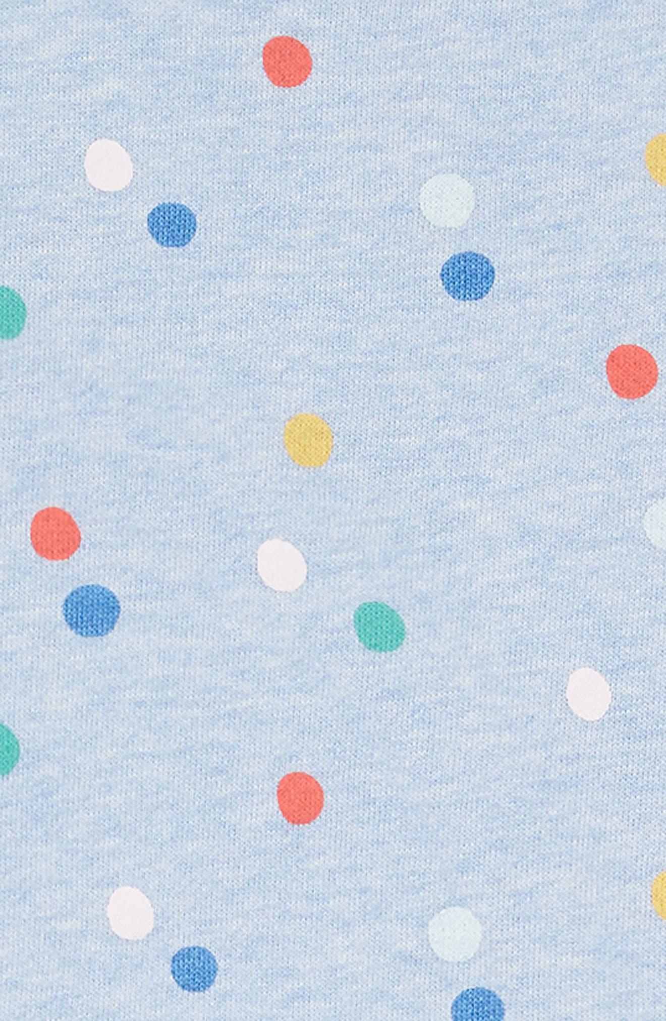 Colorful Cozy Dress,                             Alternate thumbnail 3, color,                             MUL MULTI PAINTED SPOT