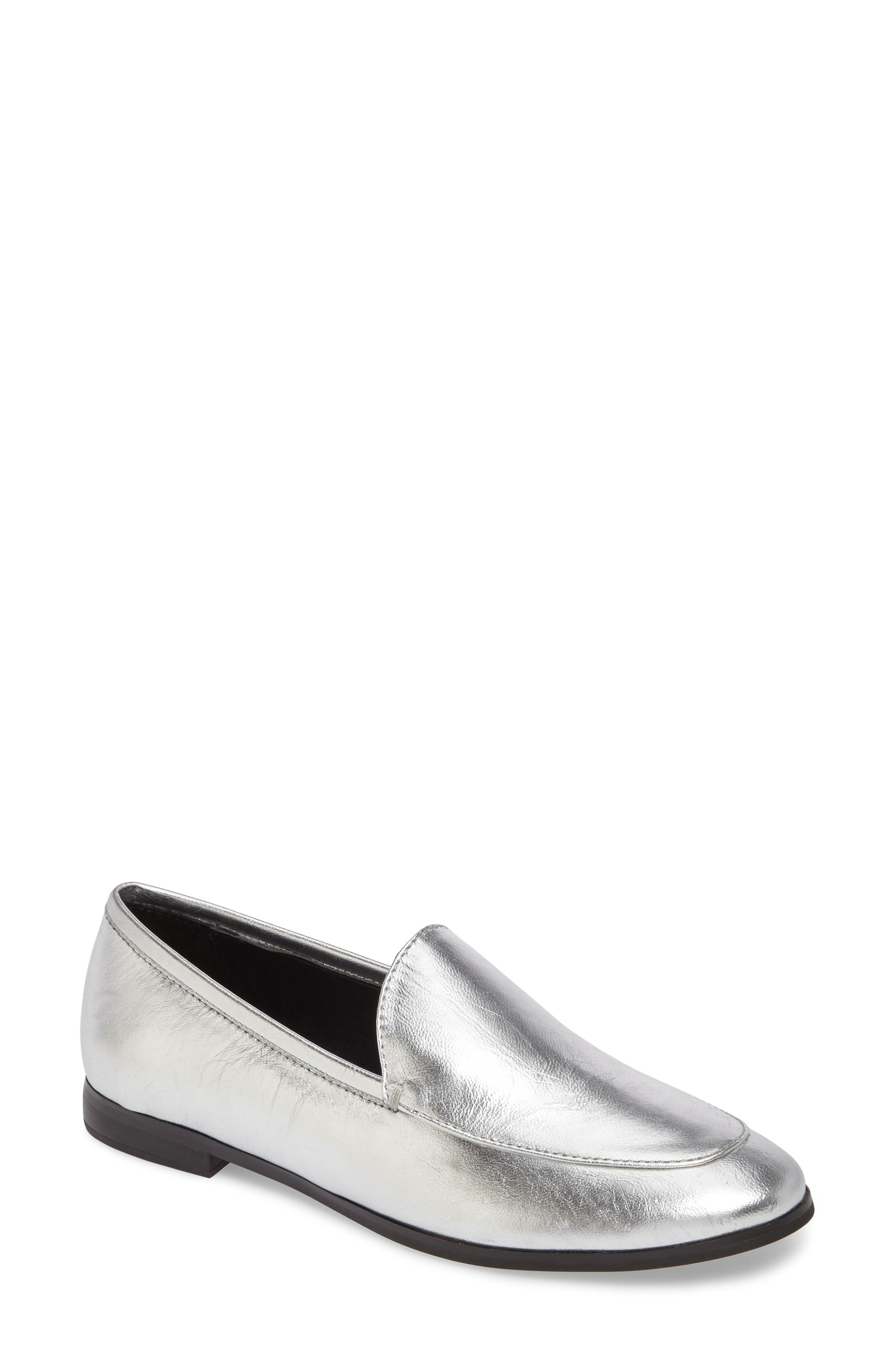 Dylan Metallic Loafer,                             Main thumbnail 1, color,                             040