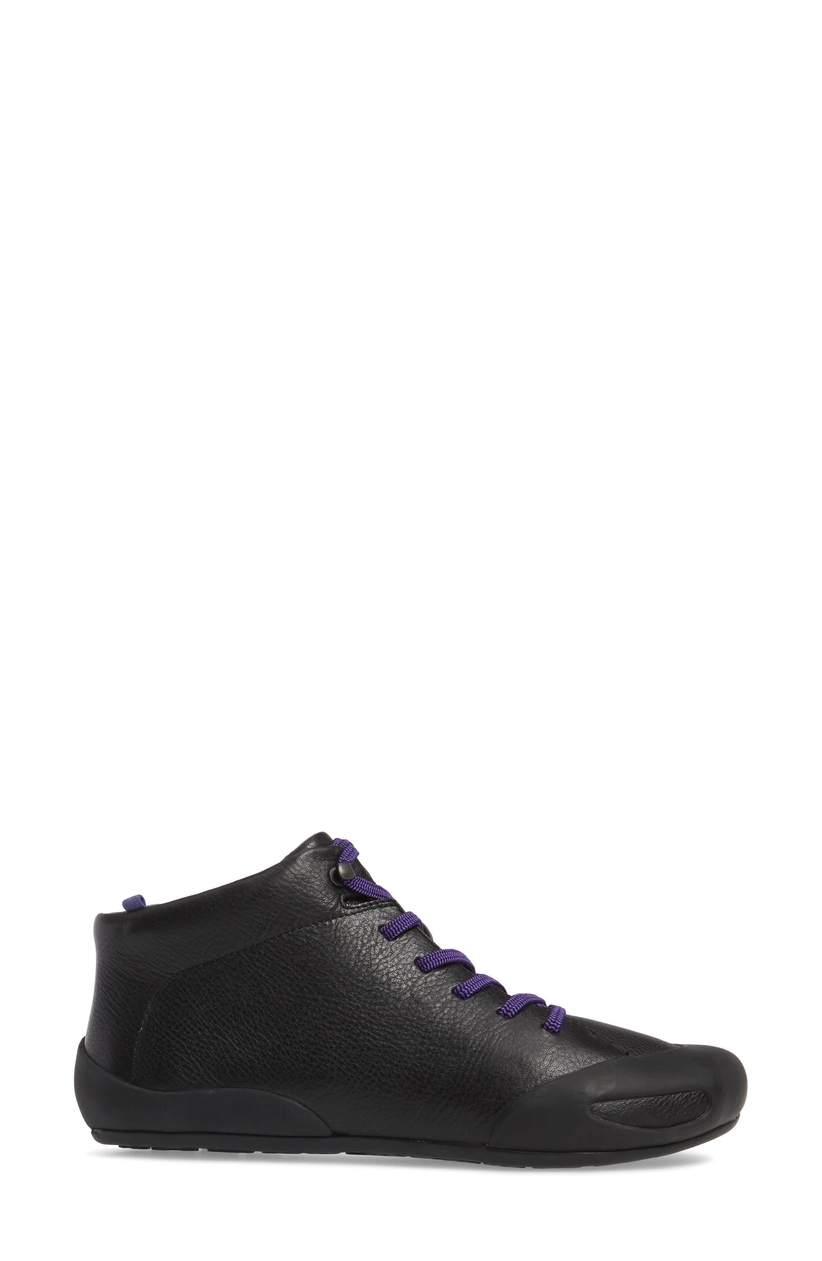 Peu Senda Sneaker,                             Alternate thumbnail 3, color,                             001
