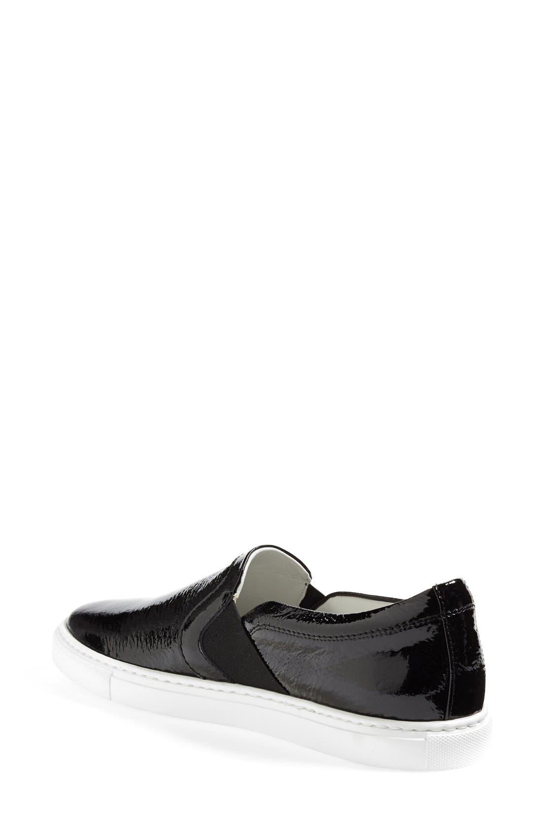 Patent Leather Skate Sneaker,                             Alternate thumbnail 2, color,