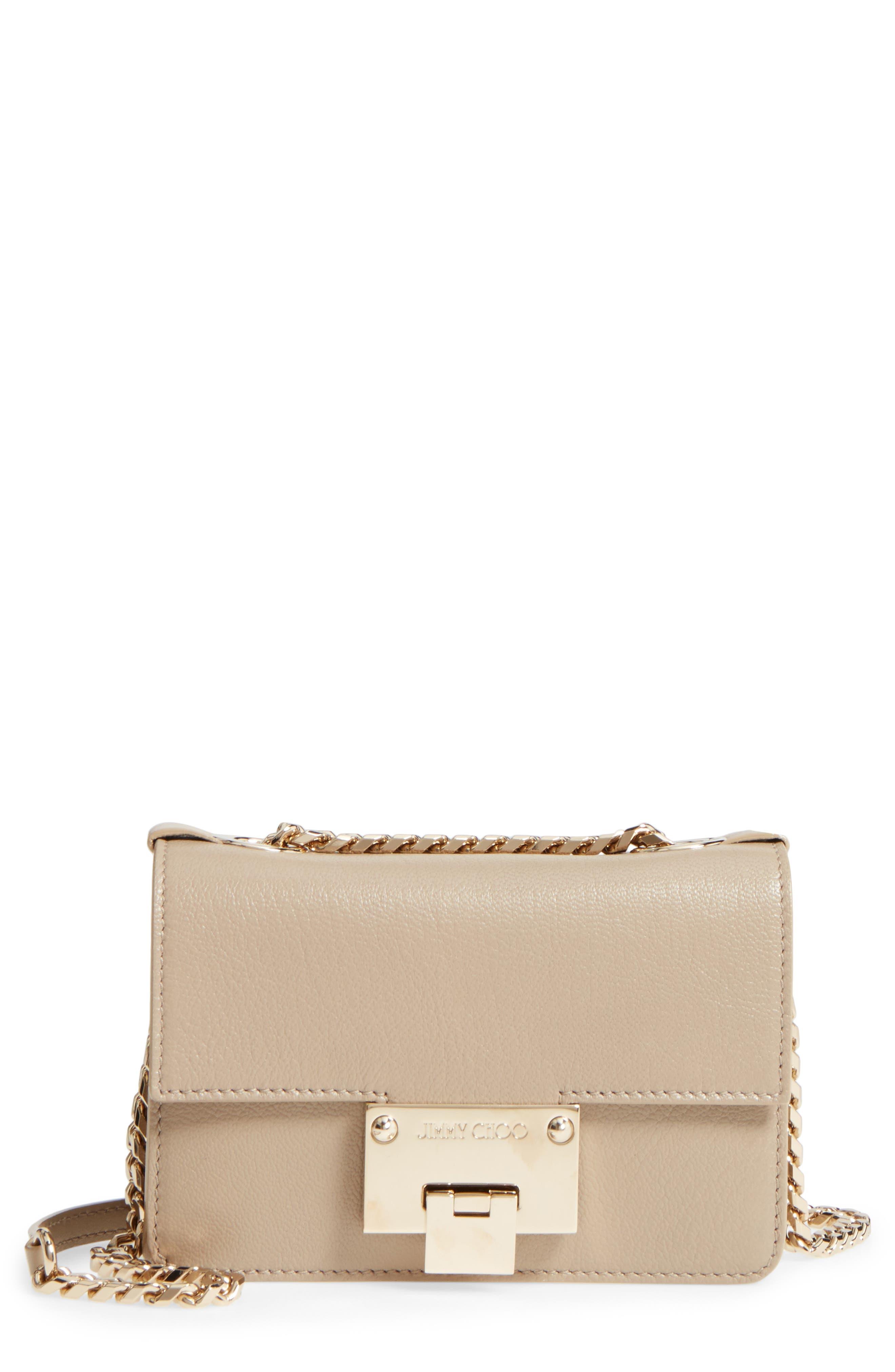 Mini Rebel Leather Crossbody Bag,                         Main,                         color, 201