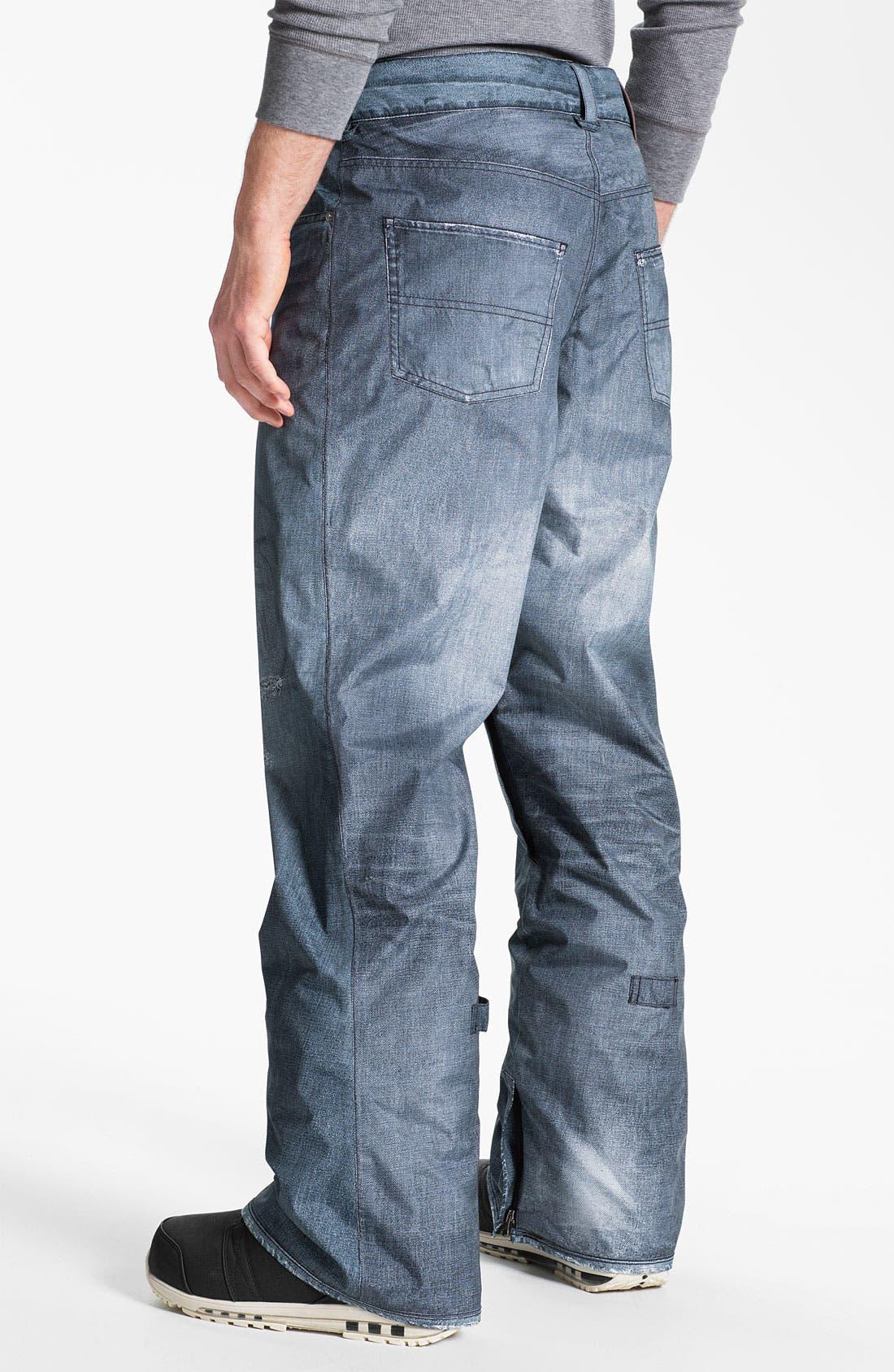 'The Jeans' Snowboard Pants,                             Alternate thumbnail 2, color,                             400