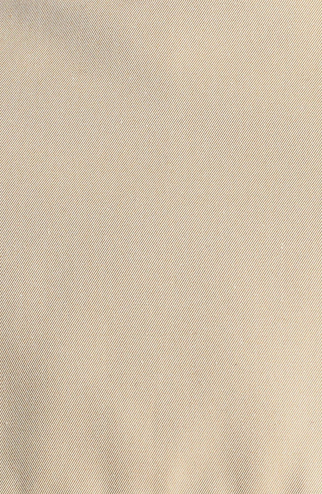 Sandringham Mid Slim Trench Coat,                             Alternate thumbnail 10, color,                             HONEY