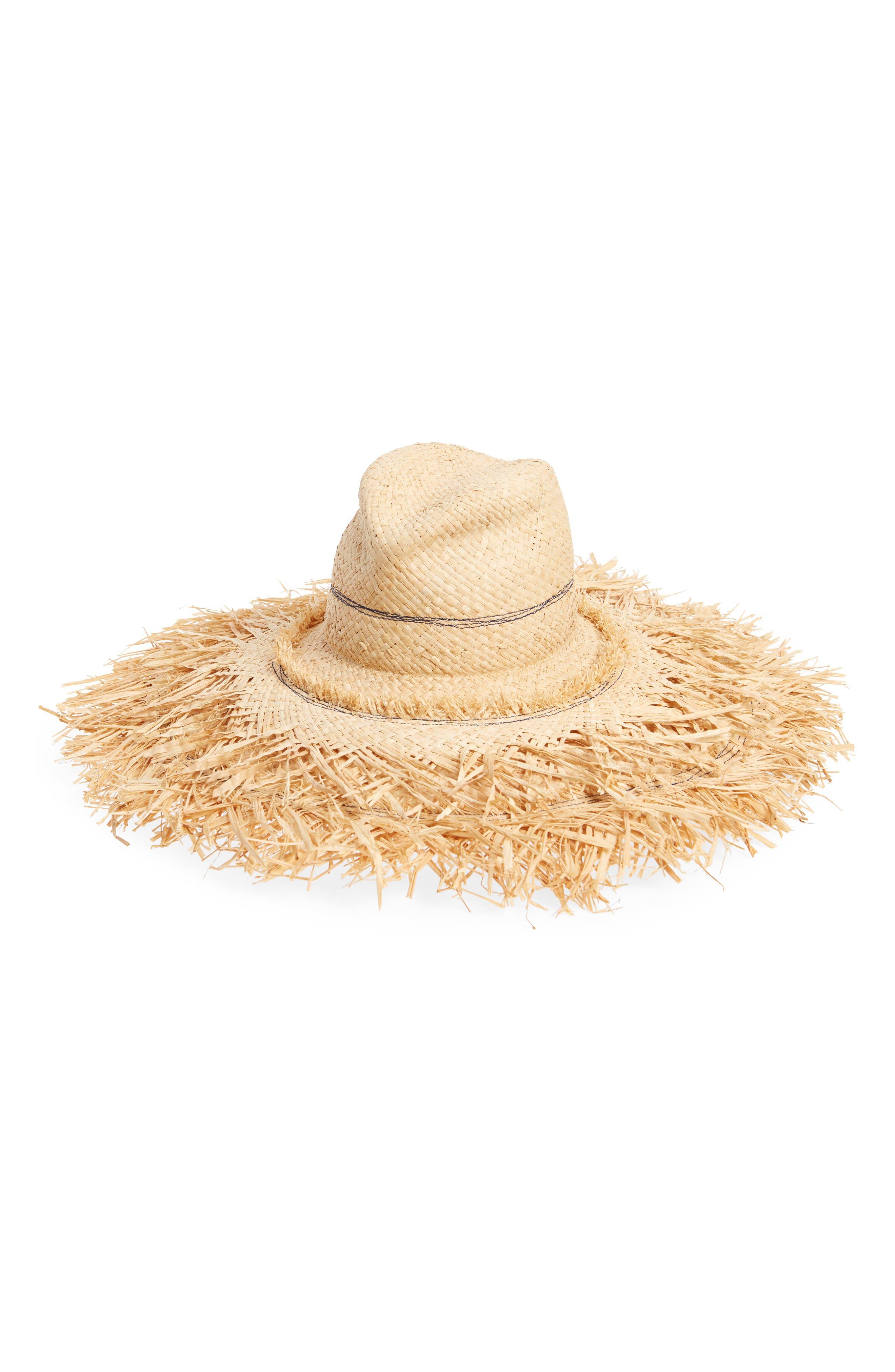 Coconut Raffia Sun Hat,                             Main thumbnail 1, color,                             410