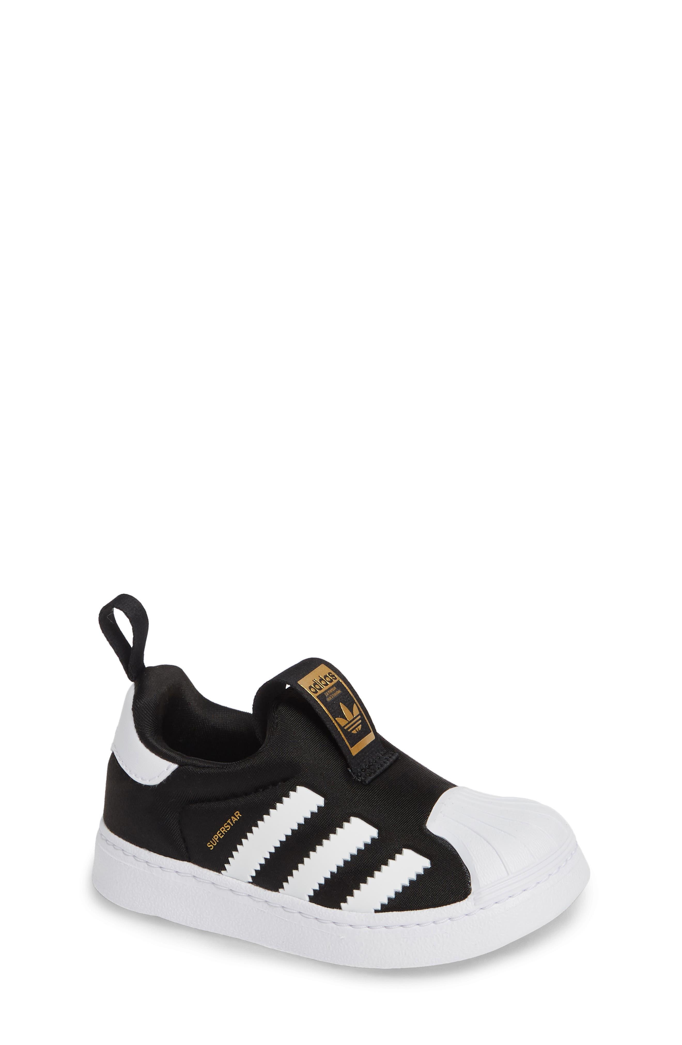 Superstar 360 I Sneaker, Main, color, CORE BLACK/ WHITE/ GOLD MET