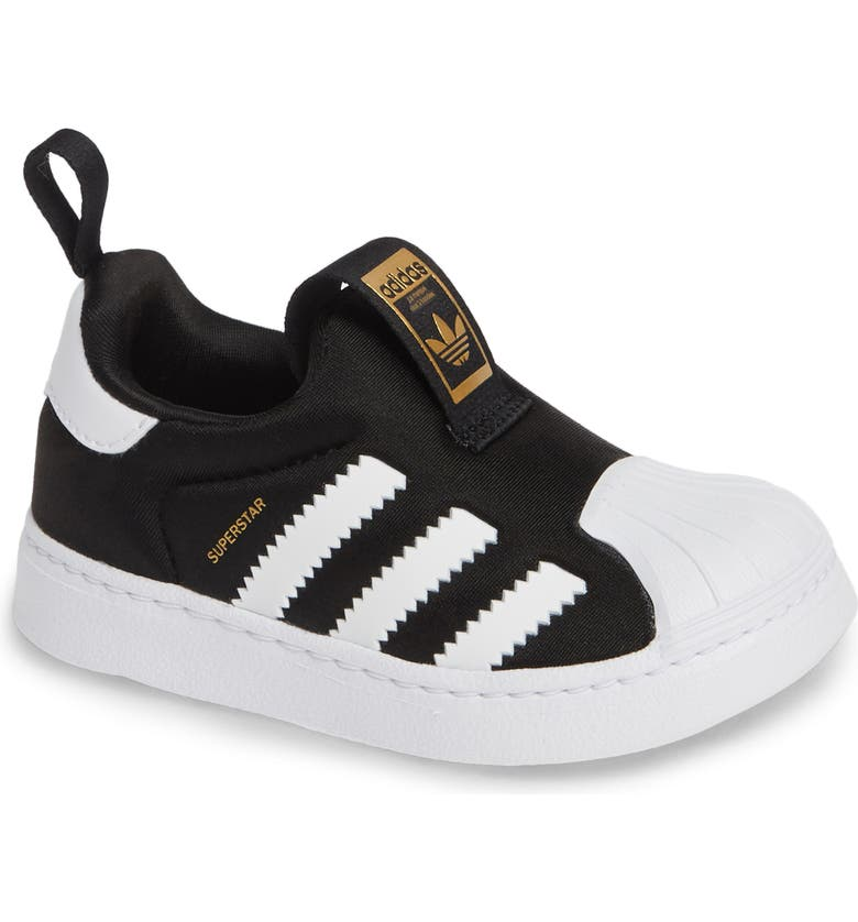 best authentic 8ceac 24162 ADIDAS Superstar 360 I Sneaker, Main, color, CORE BLACK  WHITE  GOLD